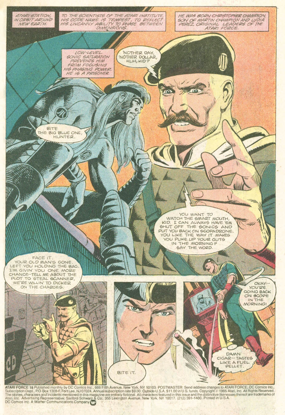 Read online Atari Force (1984) comic -  Issue #18 - 3