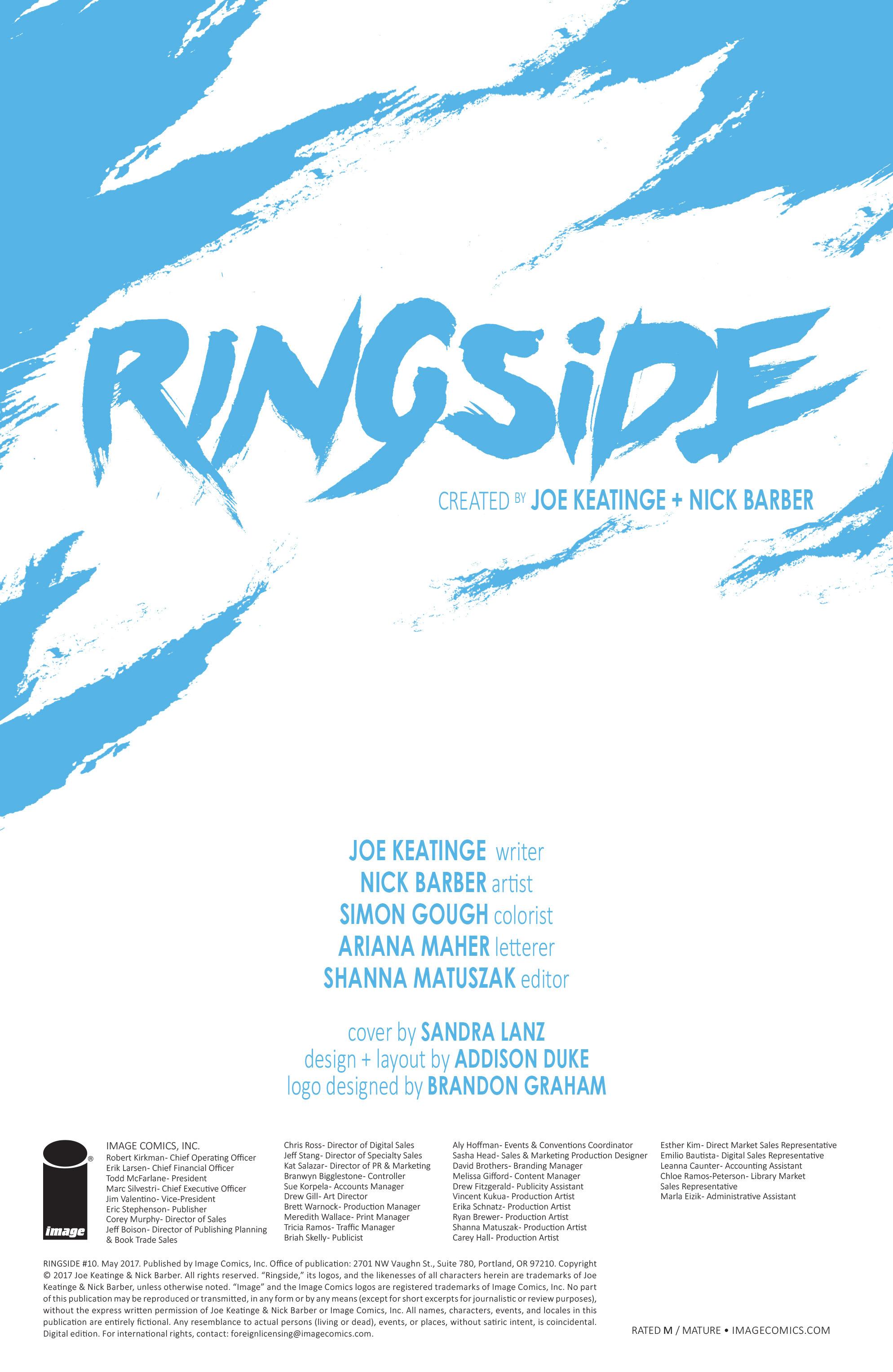 Read online Ringside comic -  Issue #10 - 31