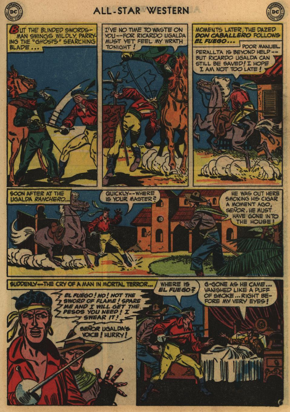 Read online All-Star Western (1951) comic -  Issue #60 - 19