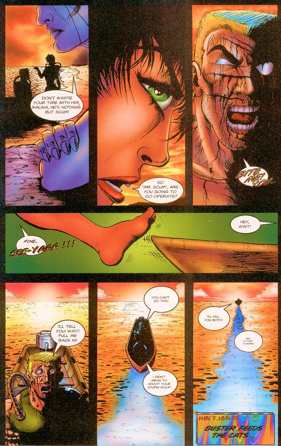 Read online Sisters of Mercy comic -  Issue #1 - 26