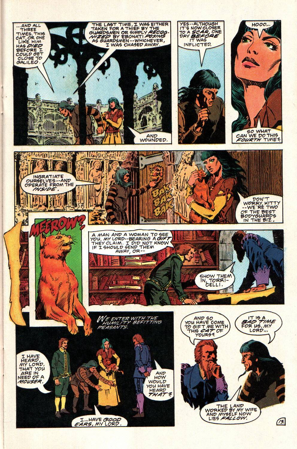 Read online Aztec Ace comic -  Issue #8 - 15