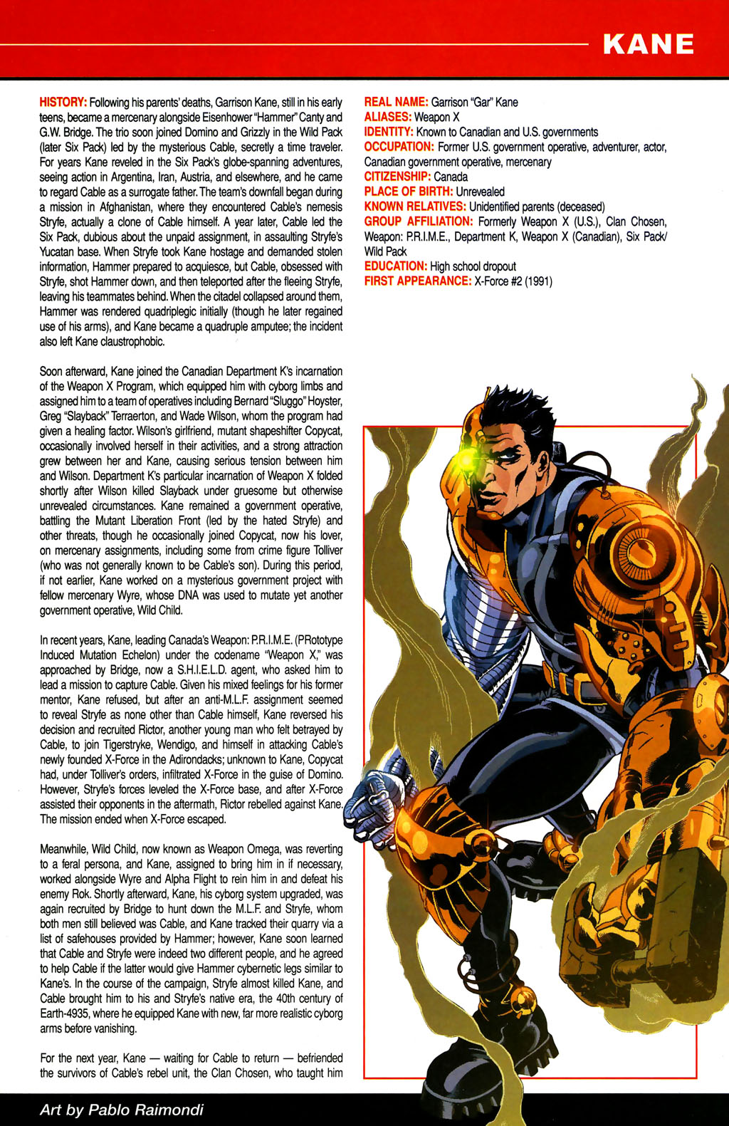 Read online All-New Official Handbook of the Marvel Universe A to Z comic -  Issue #6 - 5