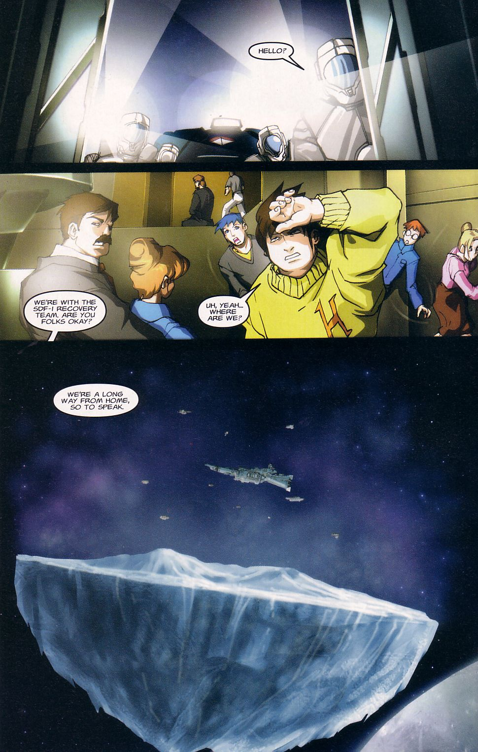 Read online Robotech: Love and War comic -  Issue #1 - 14