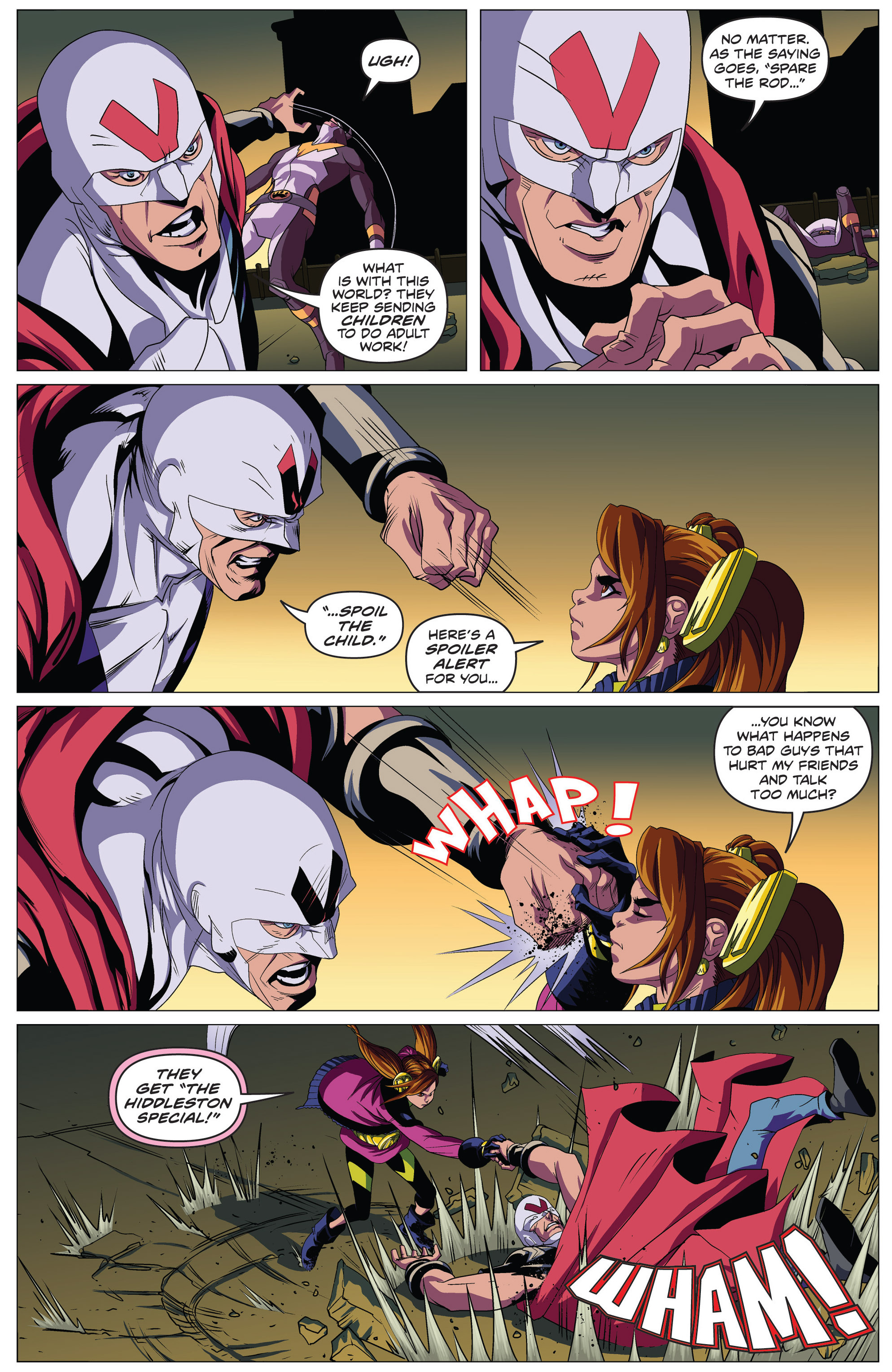 Read online Actionverse comic -  Issue #4 - 11