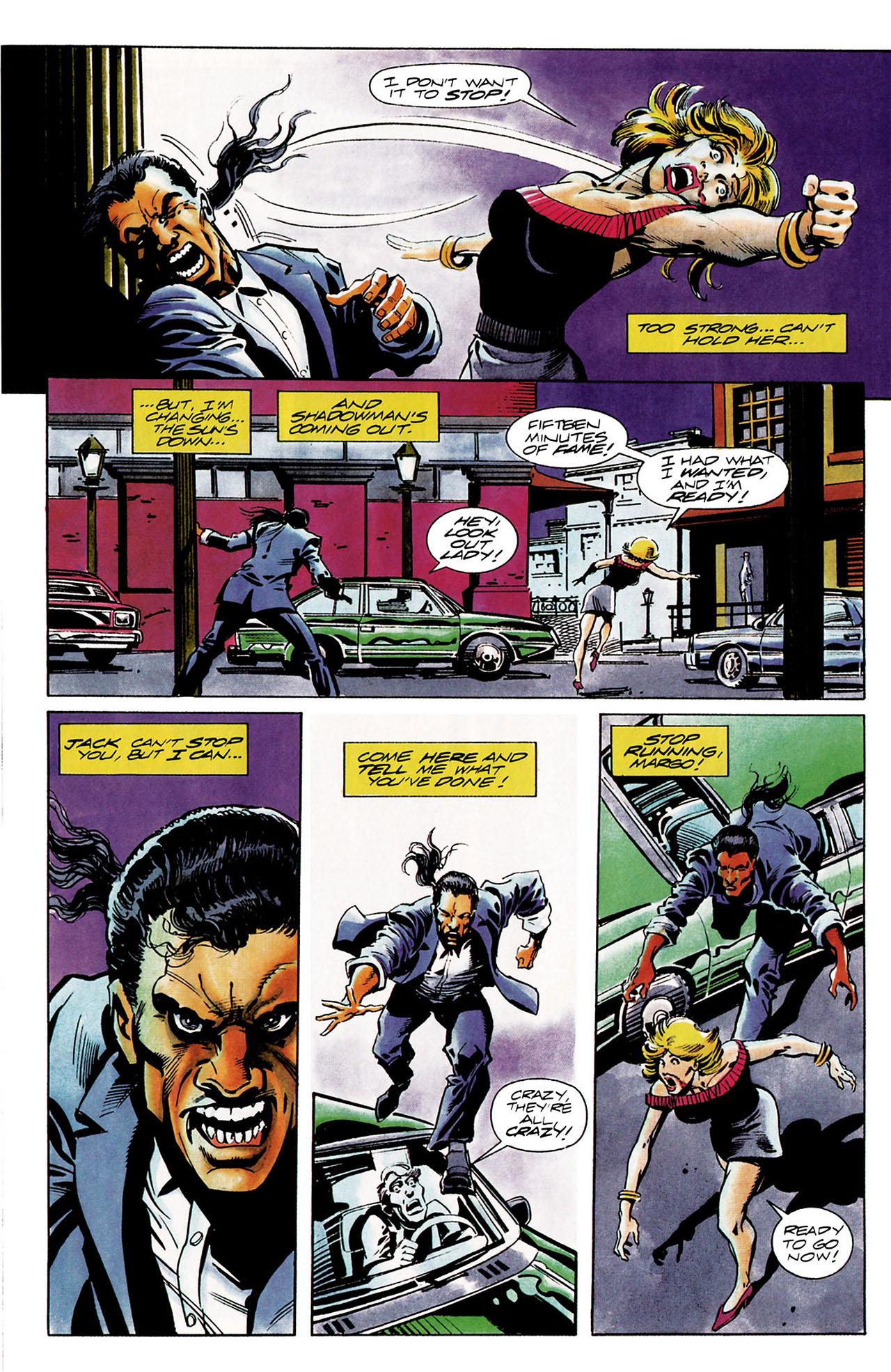 Read online Shadowman (1992) comic -  Issue #11 - 10