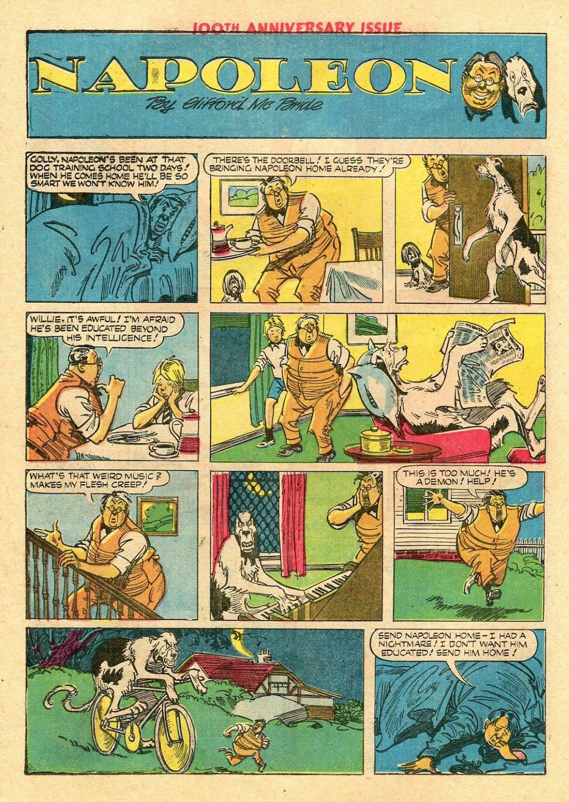 Read online Famous Funnies comic -  Issue #100 - 42