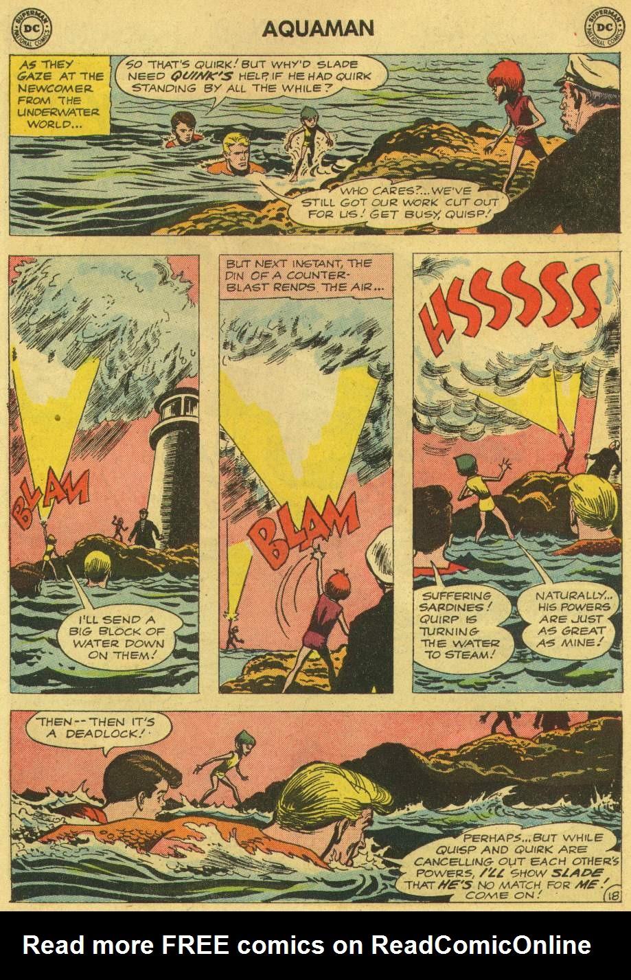 Read online Aquaman (1962) comic -  Issue #6 - 26