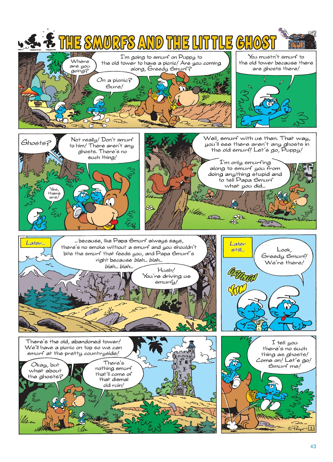 Read online The Smurfs comic -  Issue #9 - 43