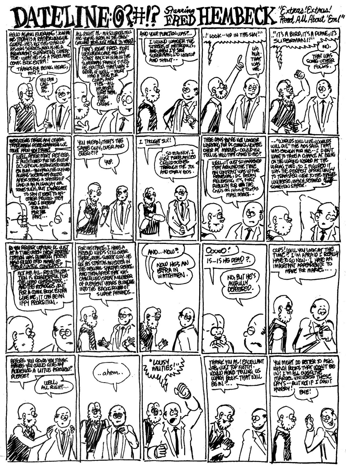 Read online The Nearly Complete Essential Hembeck Archives Omnibus comic -  Issue # TPB (Part 4) - 79