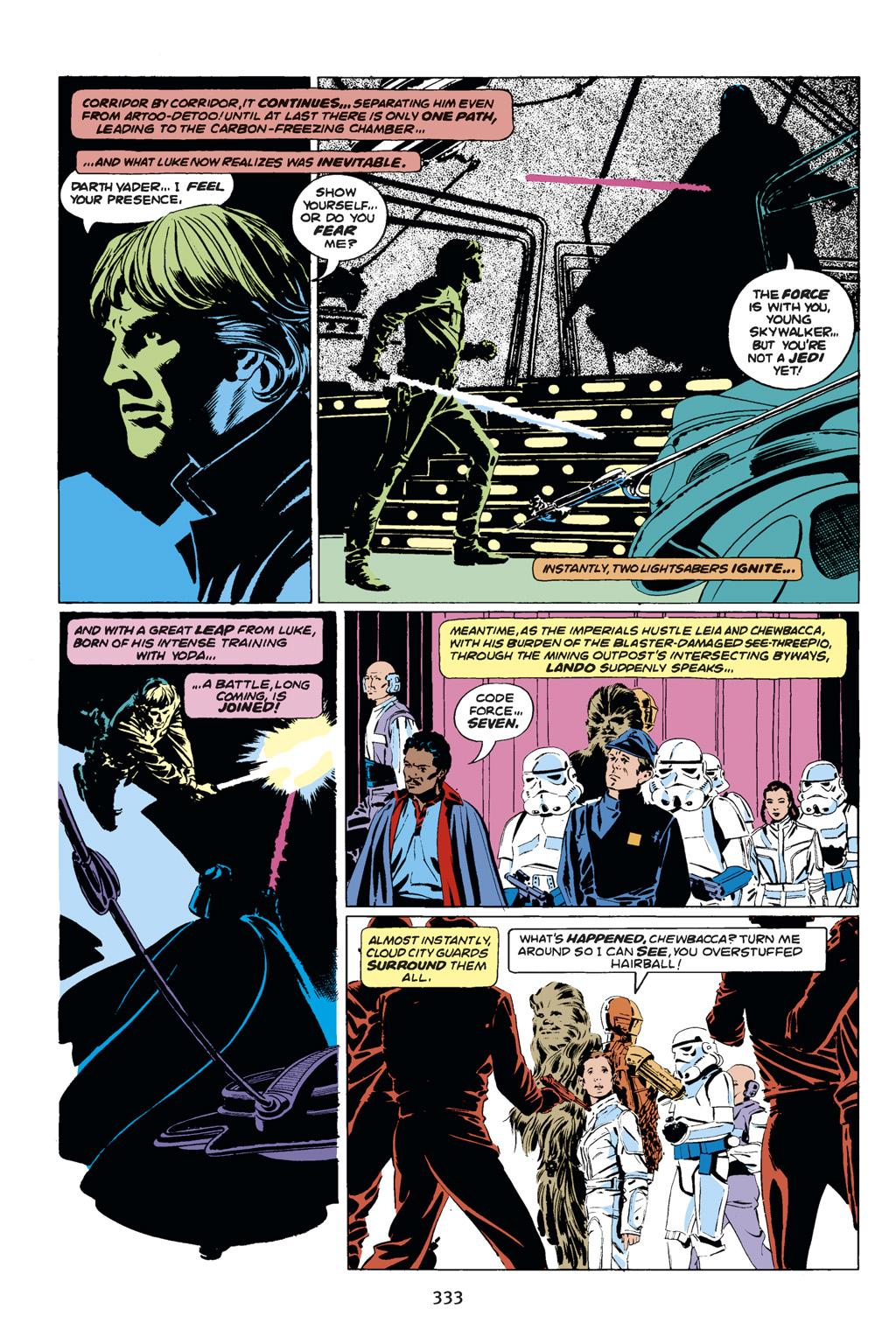 Read online Star Wars Omnibus comic -  Issue # Vol. 14 - 331