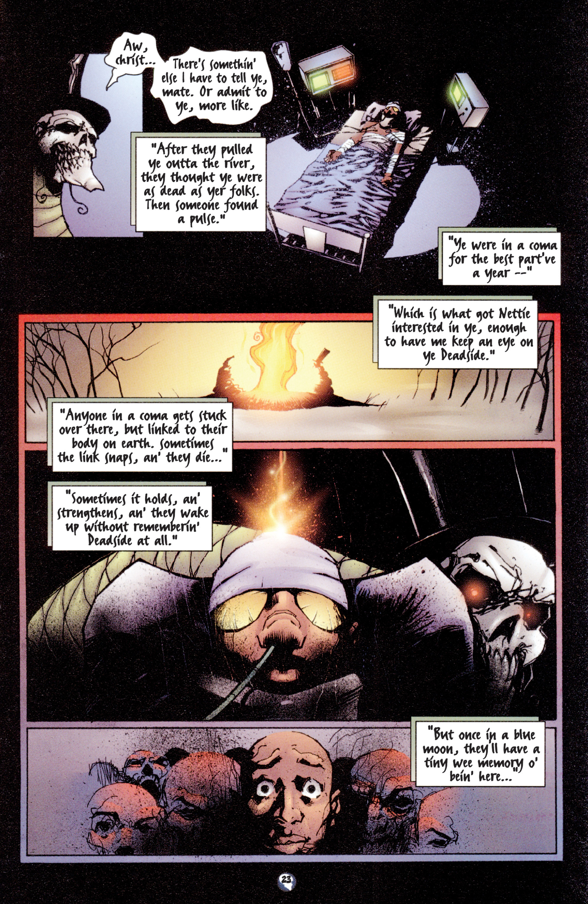 Read online Shadowman (1997) comic -  Issue #3 - 19