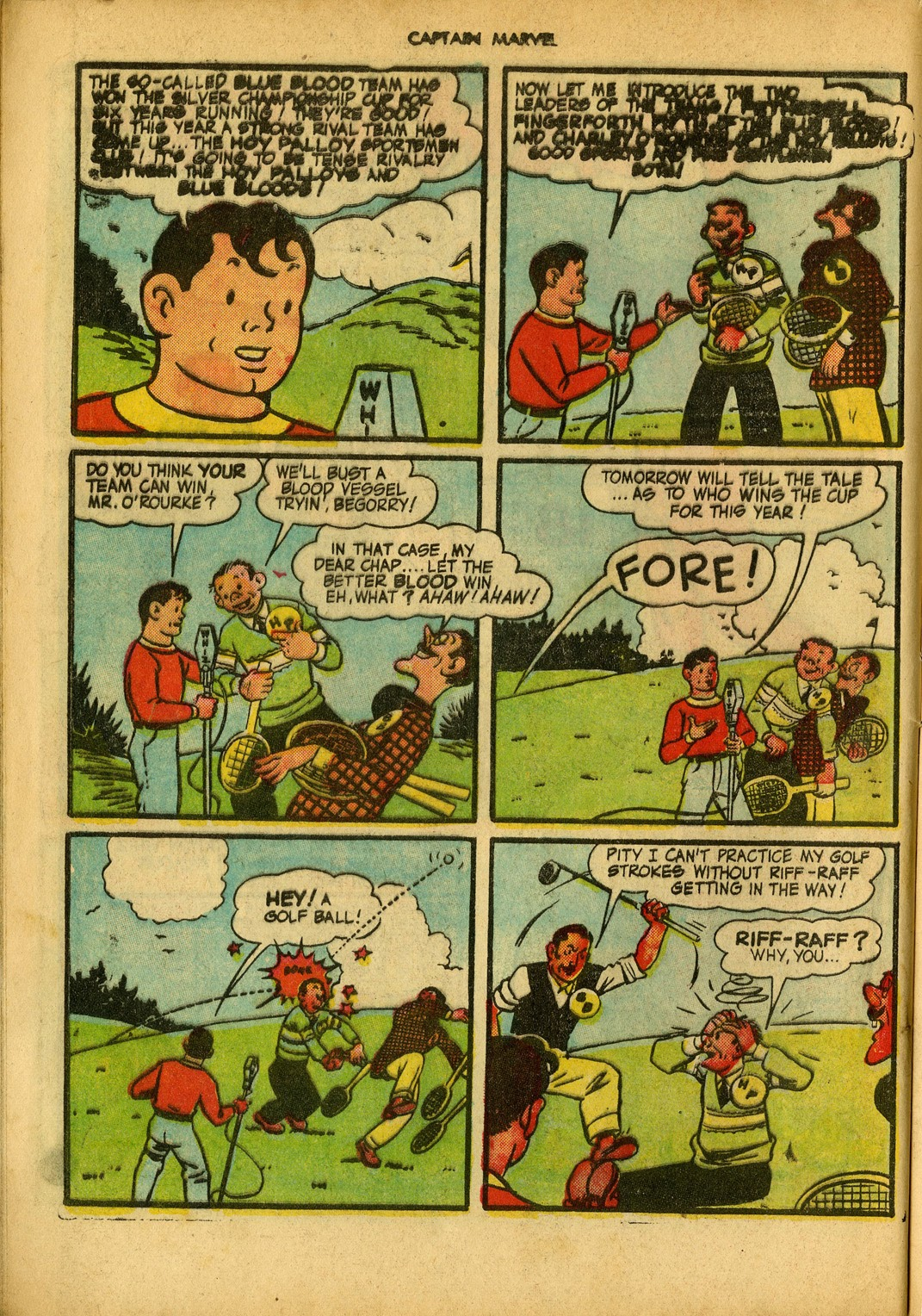 Captain Marvel Adventures issue 34 - Page 20