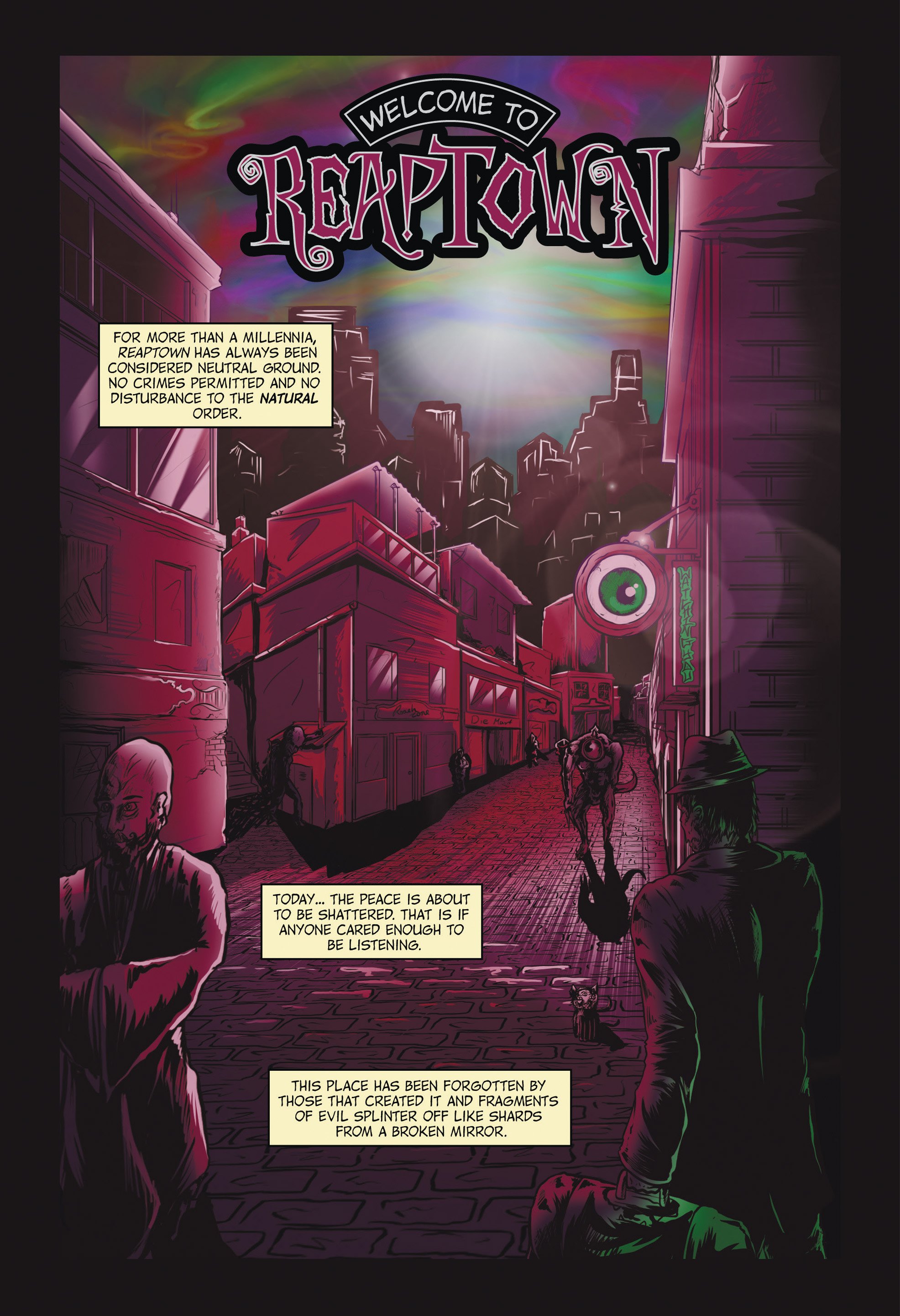 Read online Redemption Heights comic -  Issue # Full - 33