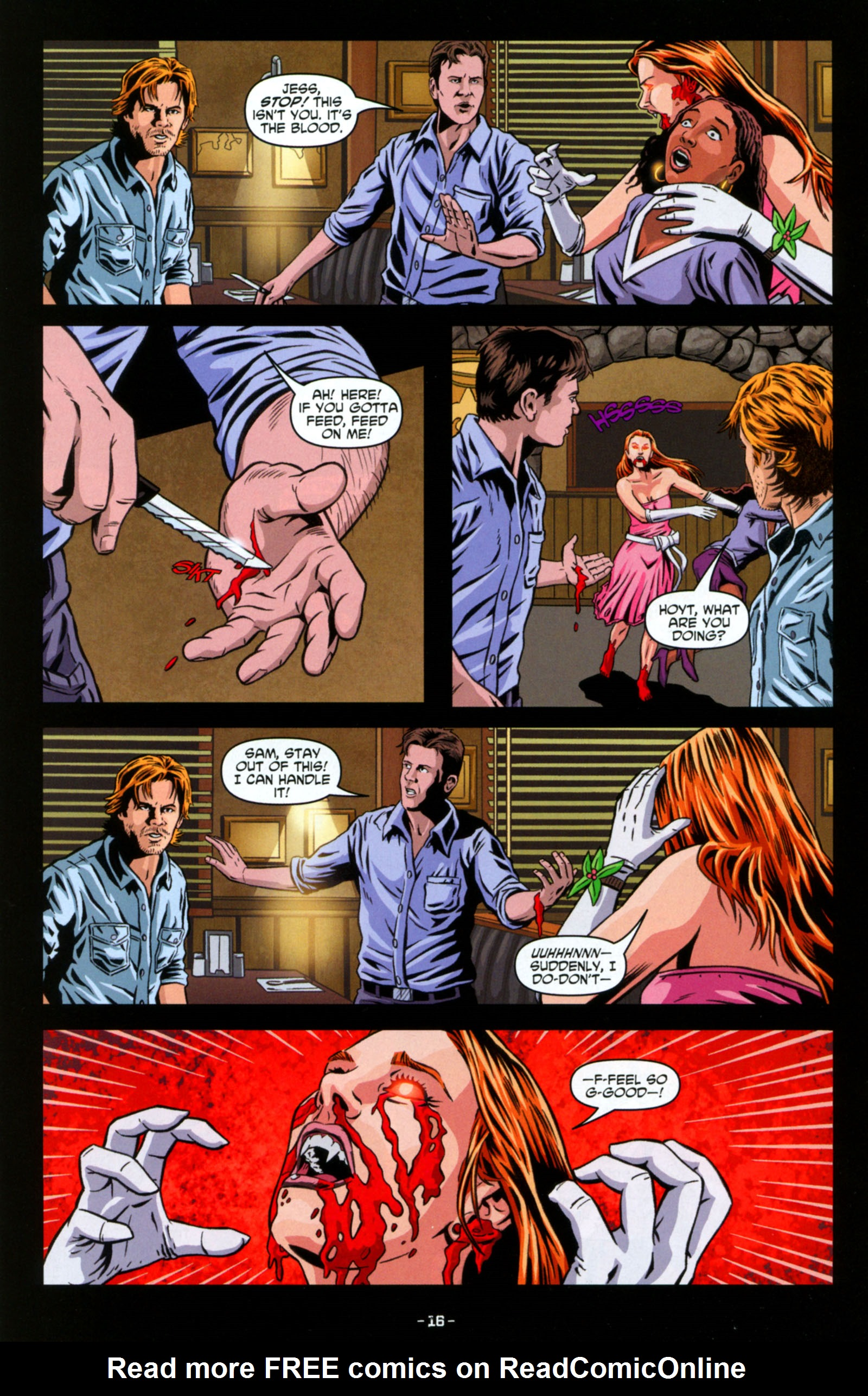 Read online True Blood: Tainted Love comic -  Issue #6 - 18