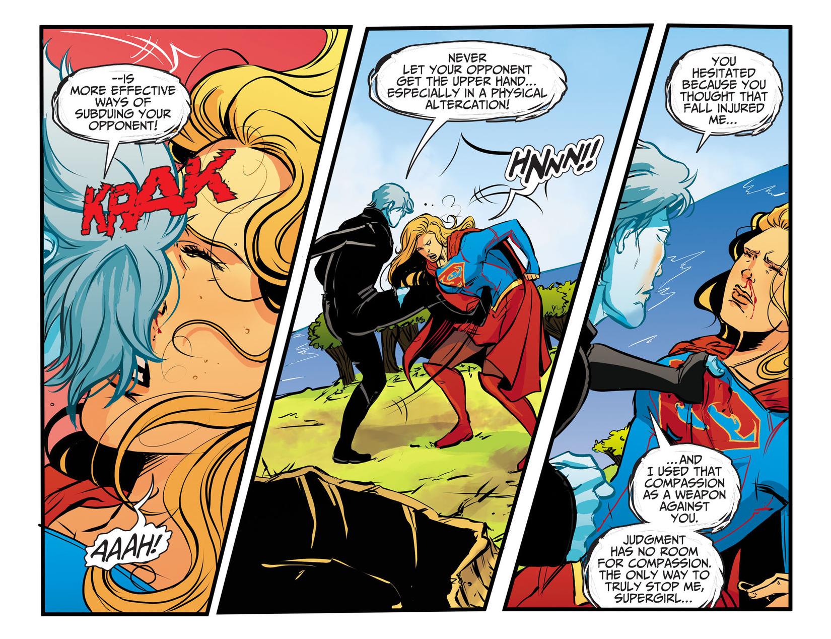 Read online Adventures of Supergirl comic -  Issue #13 - 9