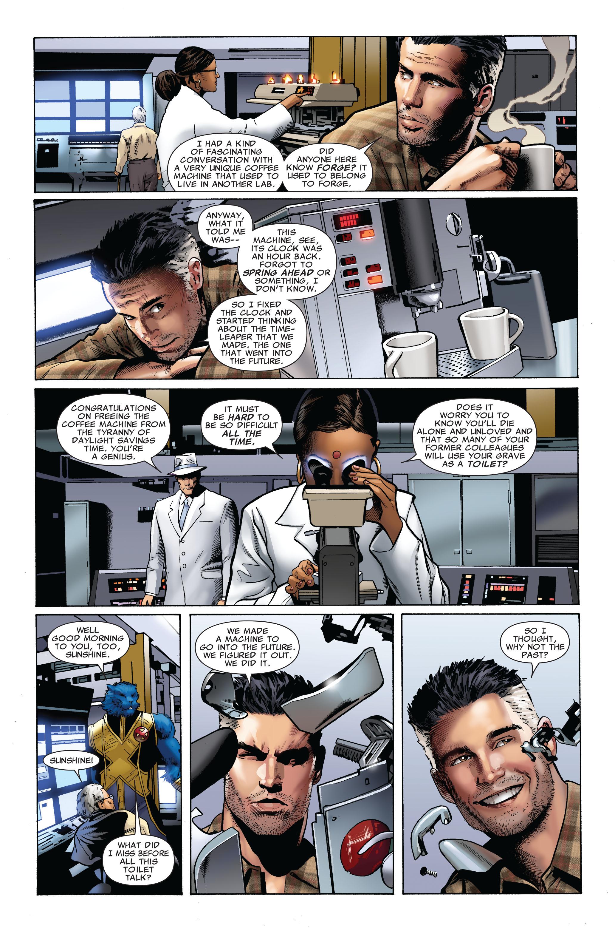 Read online Uncanny X-Men (1963) comic -  Issue #509 - 11