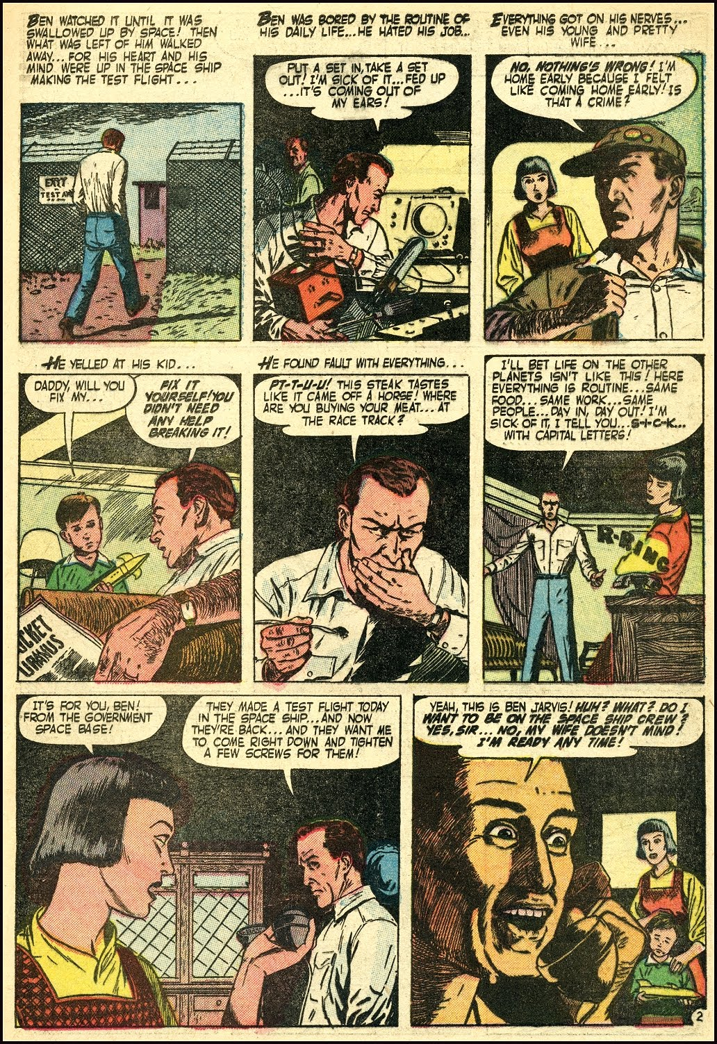 Read online Adventures into Weird Worlds comic -  Issue #25 - 18