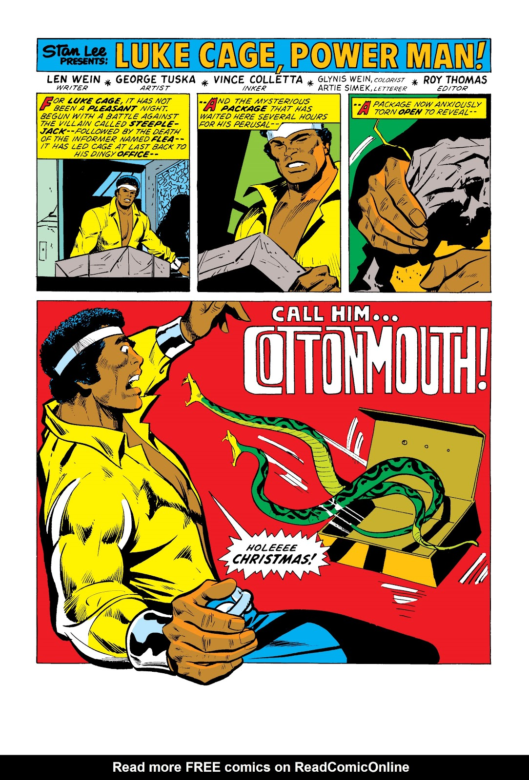 Read online Marvel Masterworks: Luke Cage, Power Man comic -  Issue # TPB 2 (Part 1) - 50