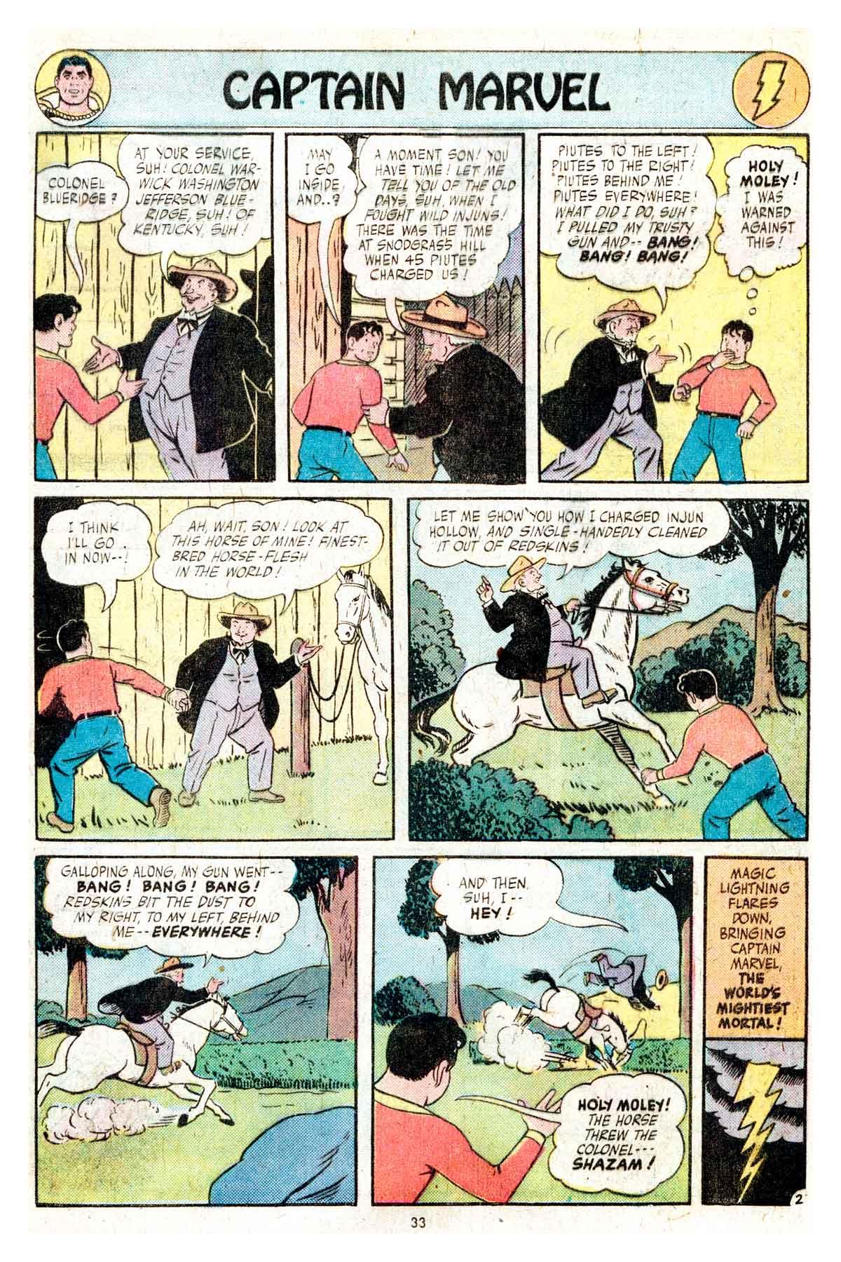 Read online Shazam! (1973) comic -  Issue #17 - 33