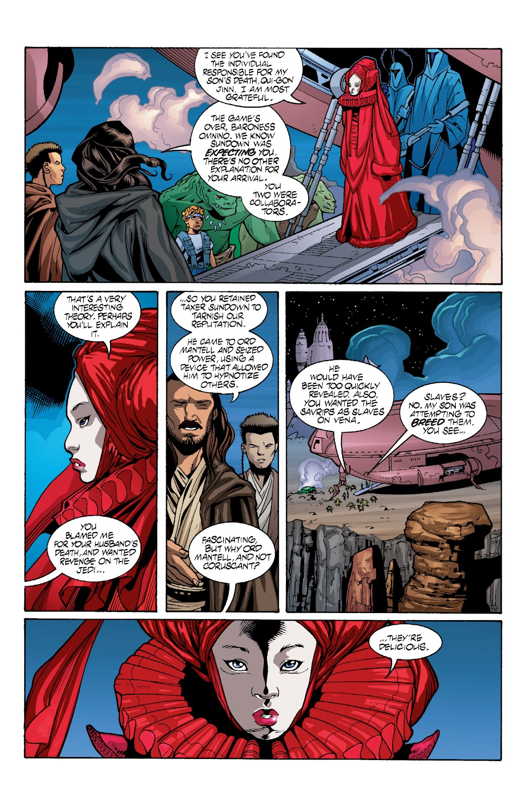 Read online Star Wars Legends: Rise of the Sith - Epic Collection comic -  Issue # TPB 1 (Part 4) - 38