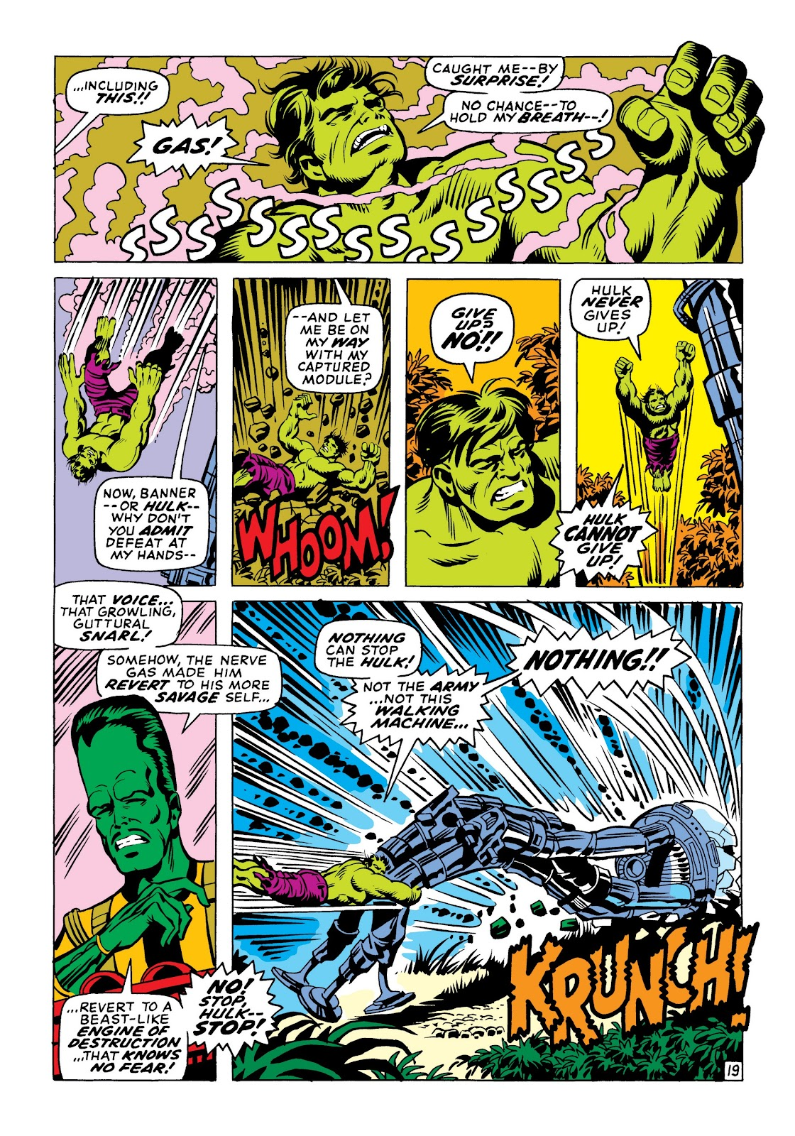 Read online Marvel Masterworks: The Incredible Hulk comic -  Issue # TPB 6 (Part 1) - 49