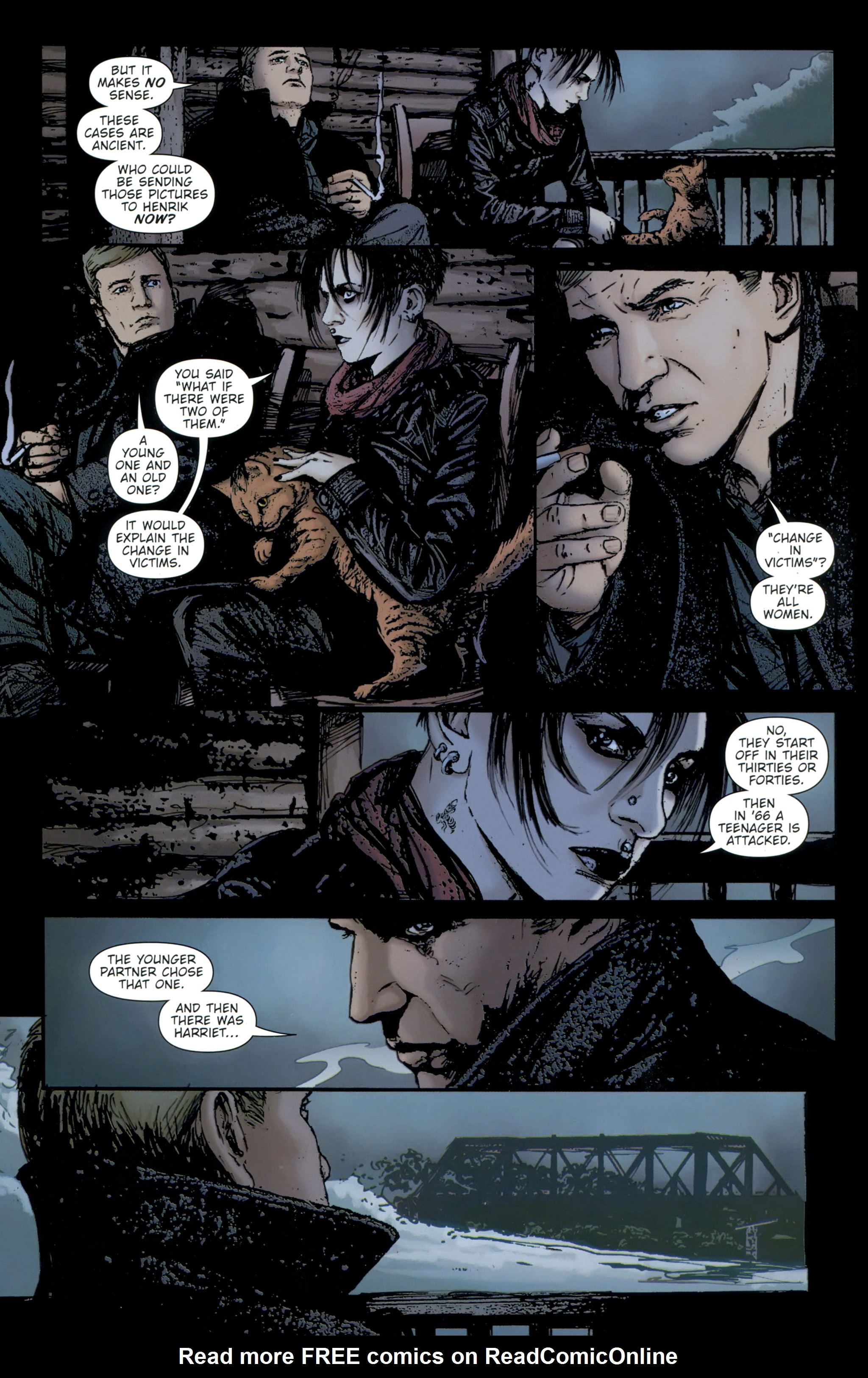Read online The Girl With the Dragon Tattoo comic -  Issue # TPB 2 - 68