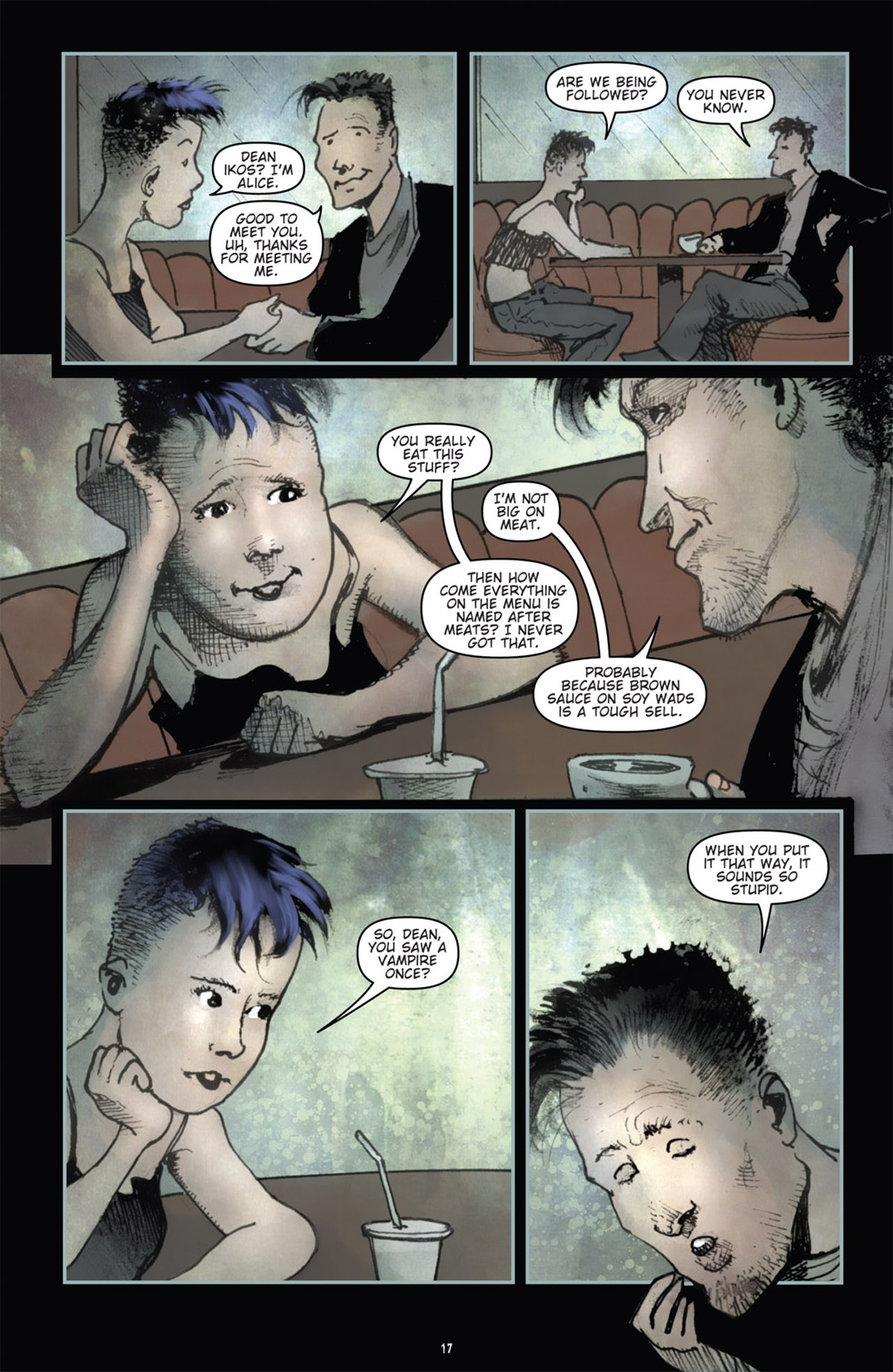 Read online 30 Days of Night (2011) comic -  Issue #1 - 21