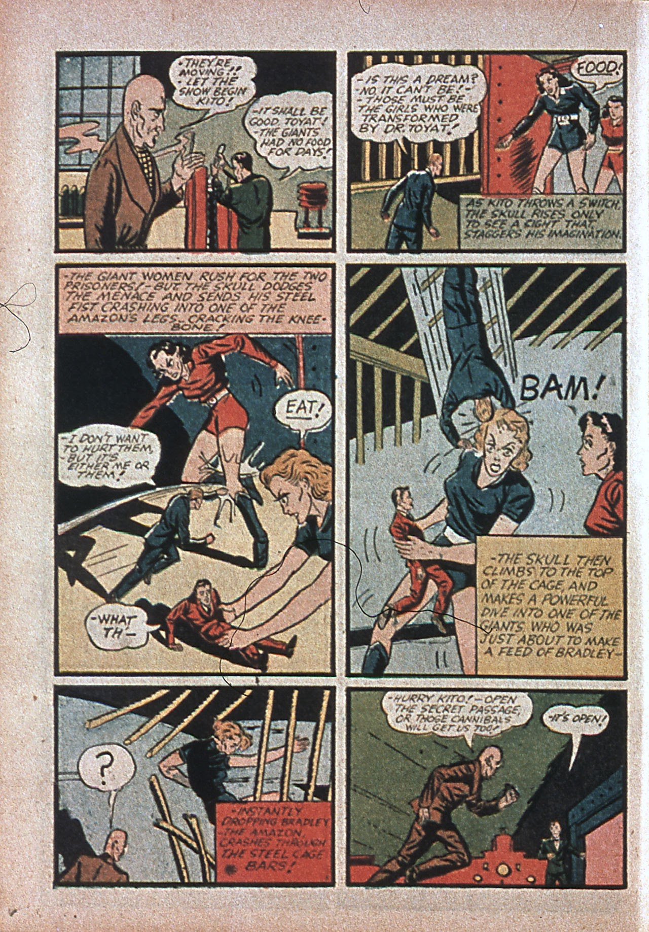 Read online Amazing Man Comics comic -  Issue #7 - 25