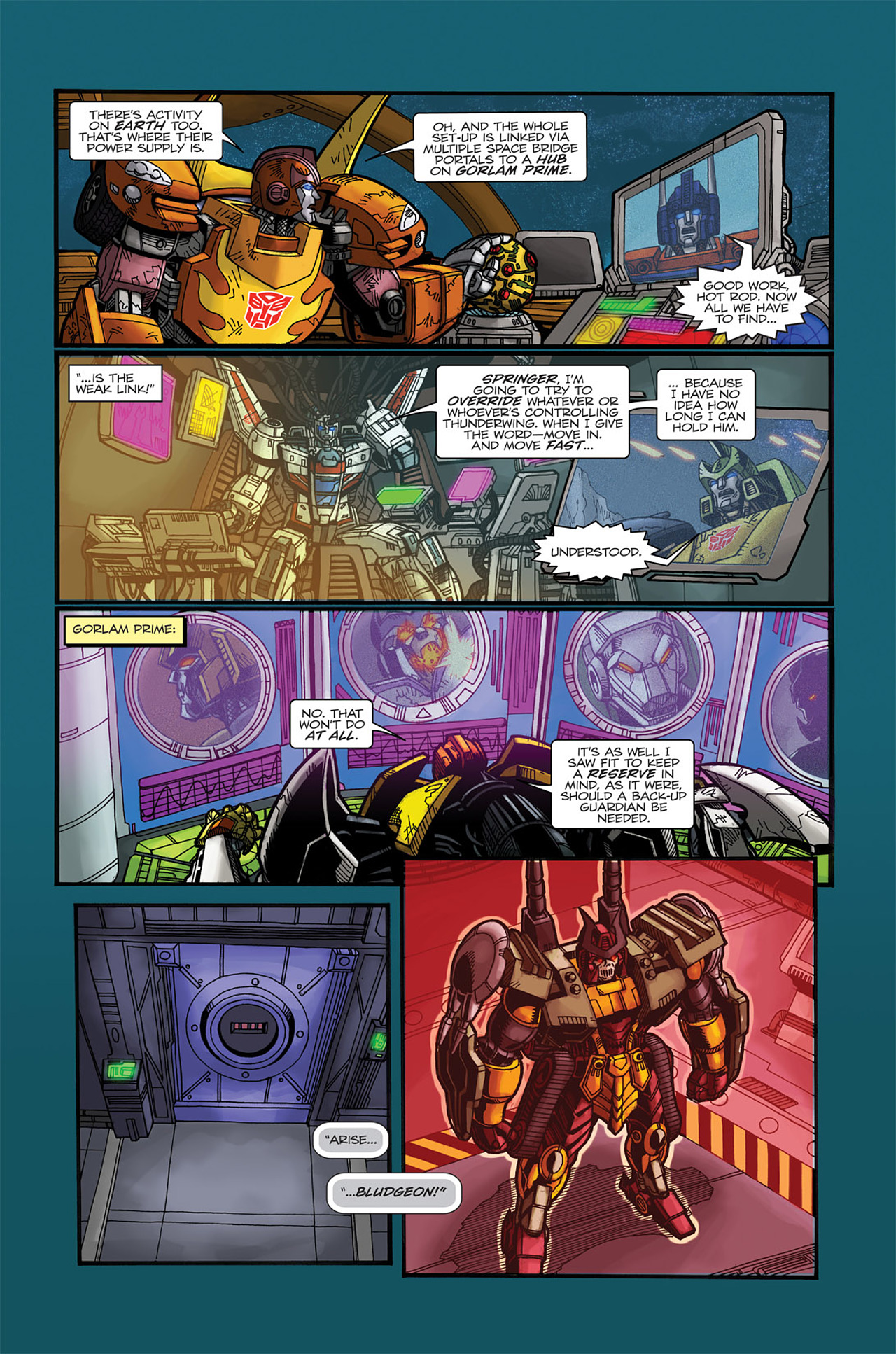 Read online Transformers Spotlight: Doubledealer comic -  Issue # Full - 25