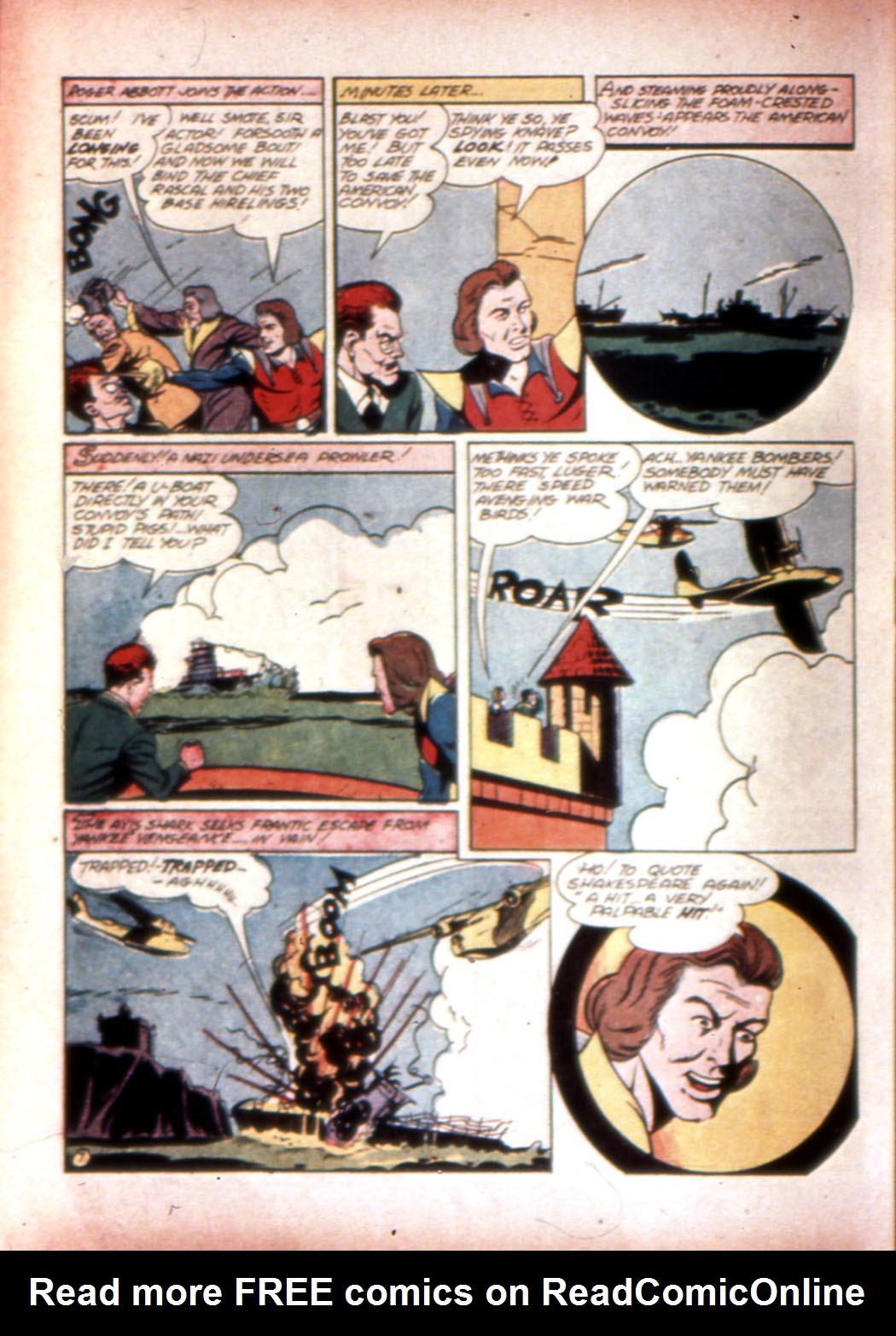 Read online Sensation (Mystery) Comics comic -  Issue #20 - 38