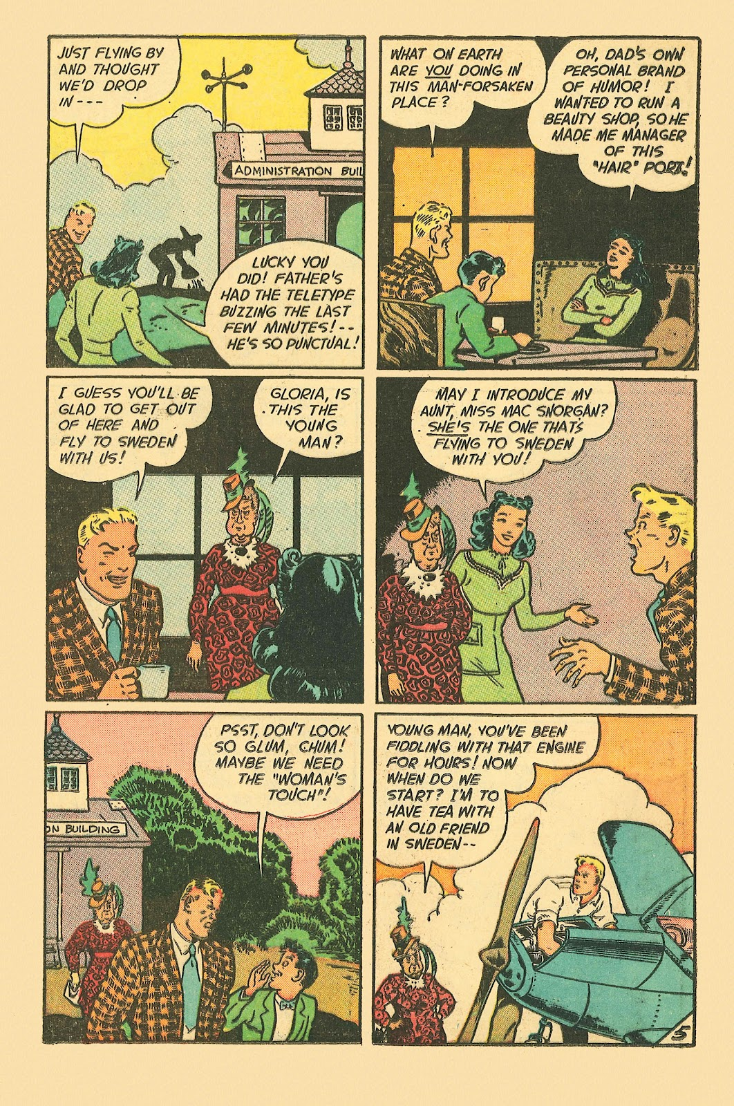 Read online Famous Funnies comic -  Issue #181 - 25