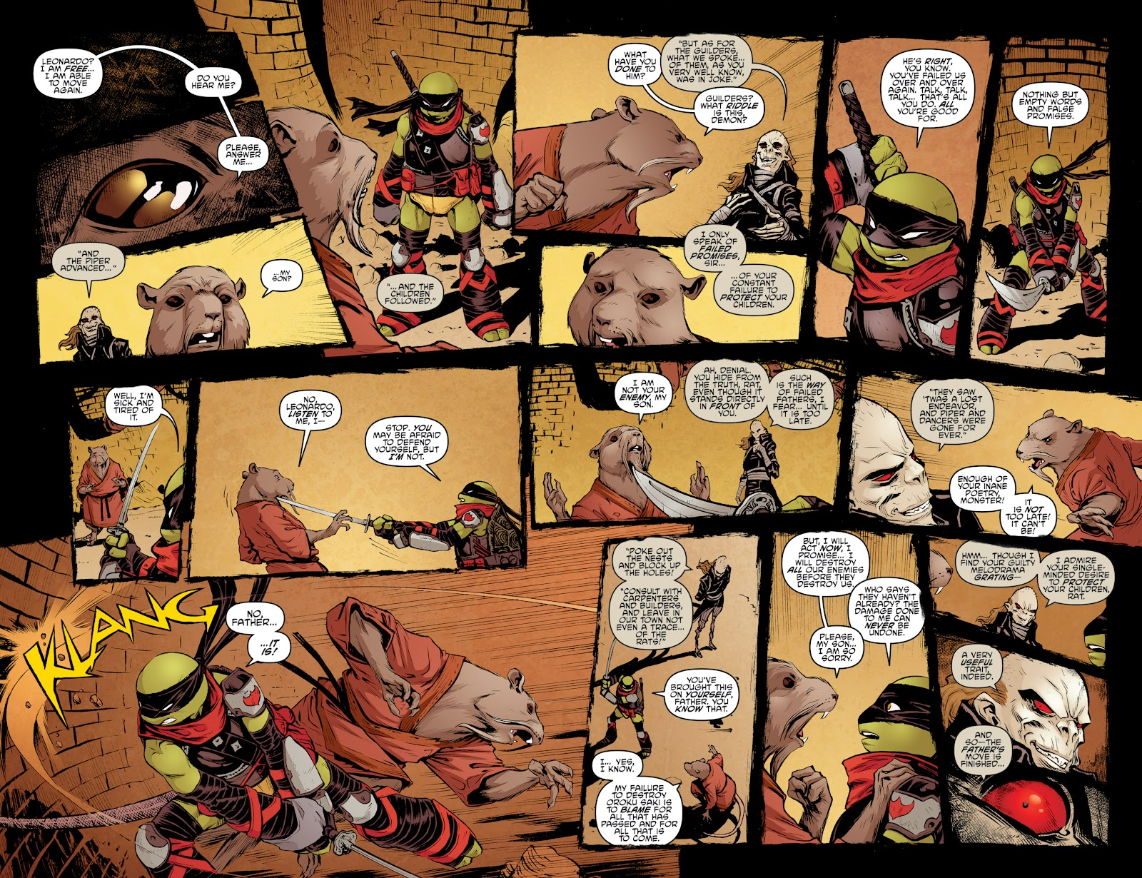 Read online Teenage Mutant Ninja Turtles: The IDW Collection comic -  Issue # TPB 4 (Part 3) - 93