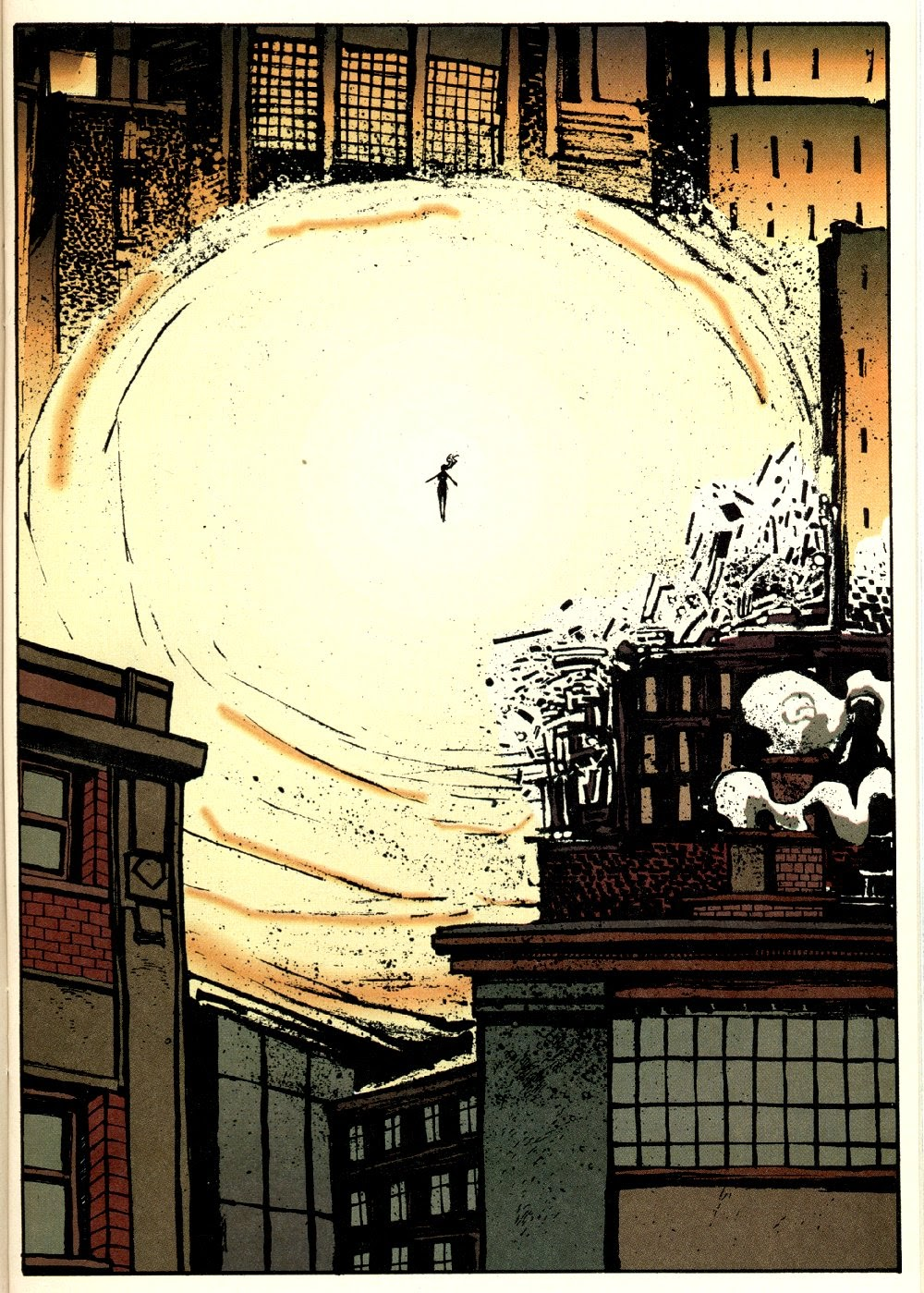 Read online Ted McKeever's Metropol comic -  Issue #9 - 13