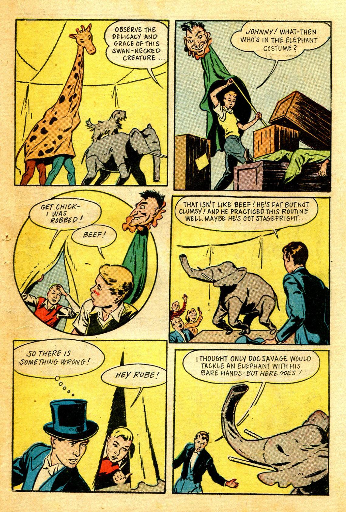 Read online Shadow Comics comic -  Issue #43 - 41
