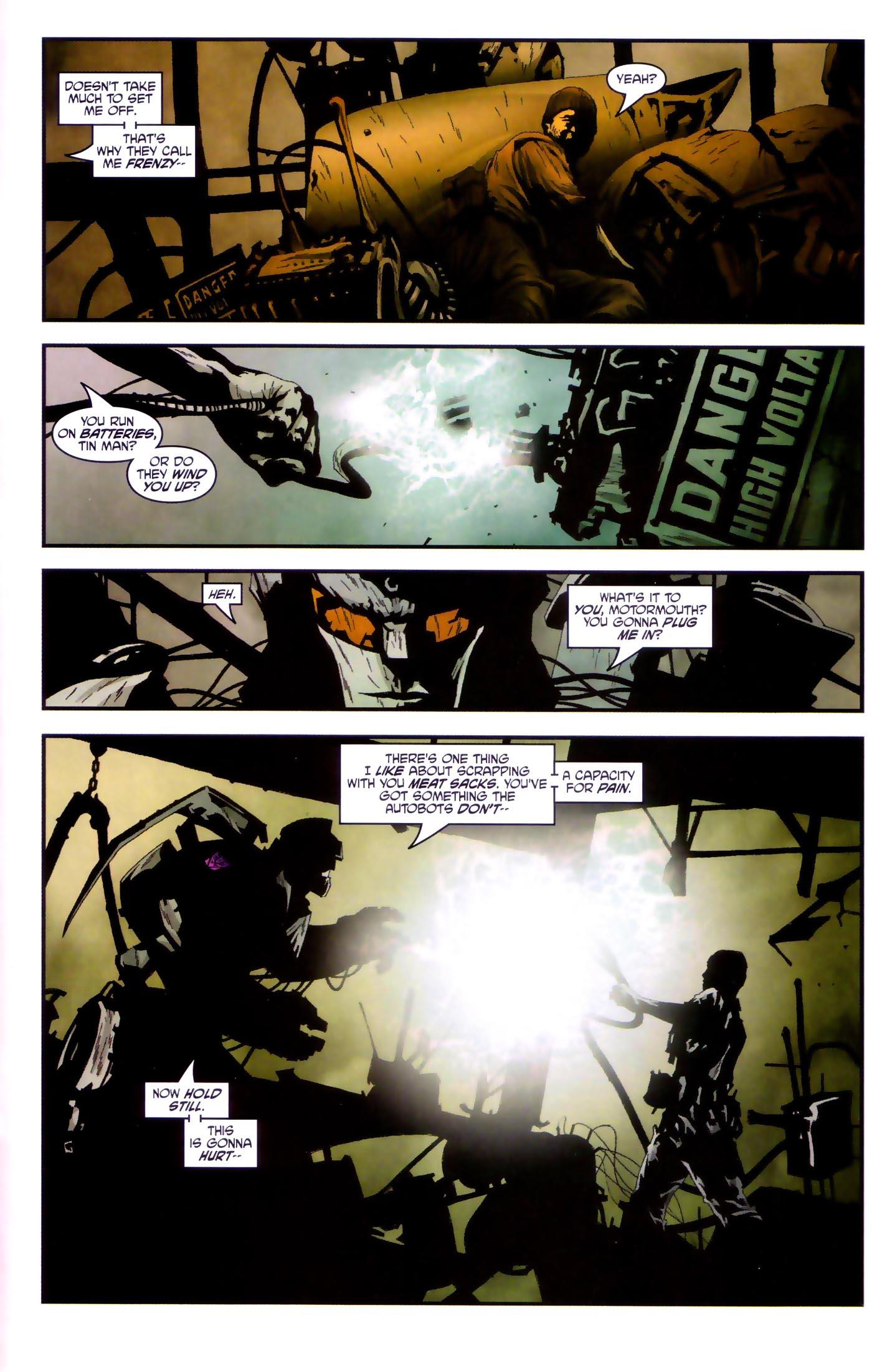 Read online Transformers/G.I. Joe comic -  Issue #4 - 21