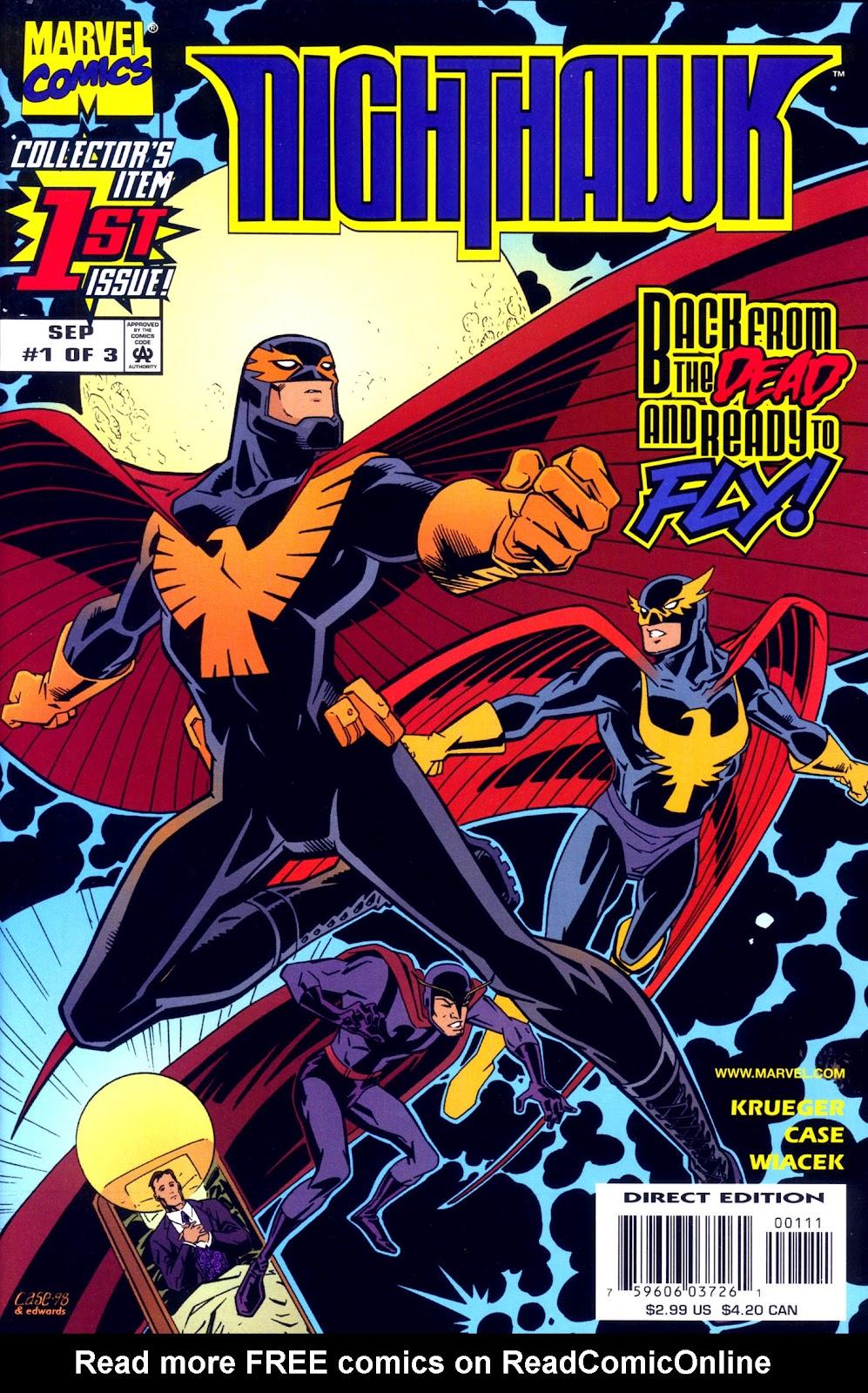 Nighthawk (1998) issue 1 - Page 1
