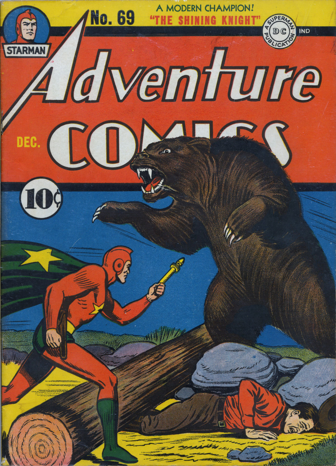 Read online Adventure Comics (1938) comic -  Issue #69 - 2