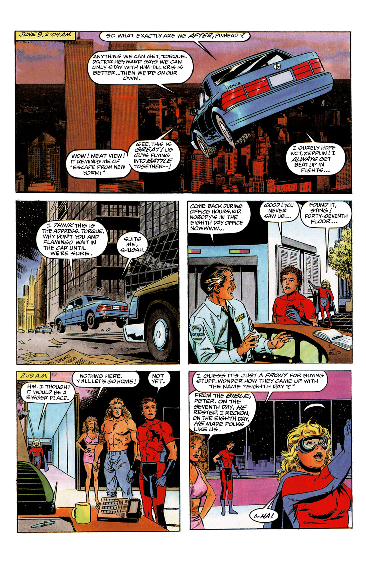 Read online Harbinger (1992) comic -  Issue #2 - 17