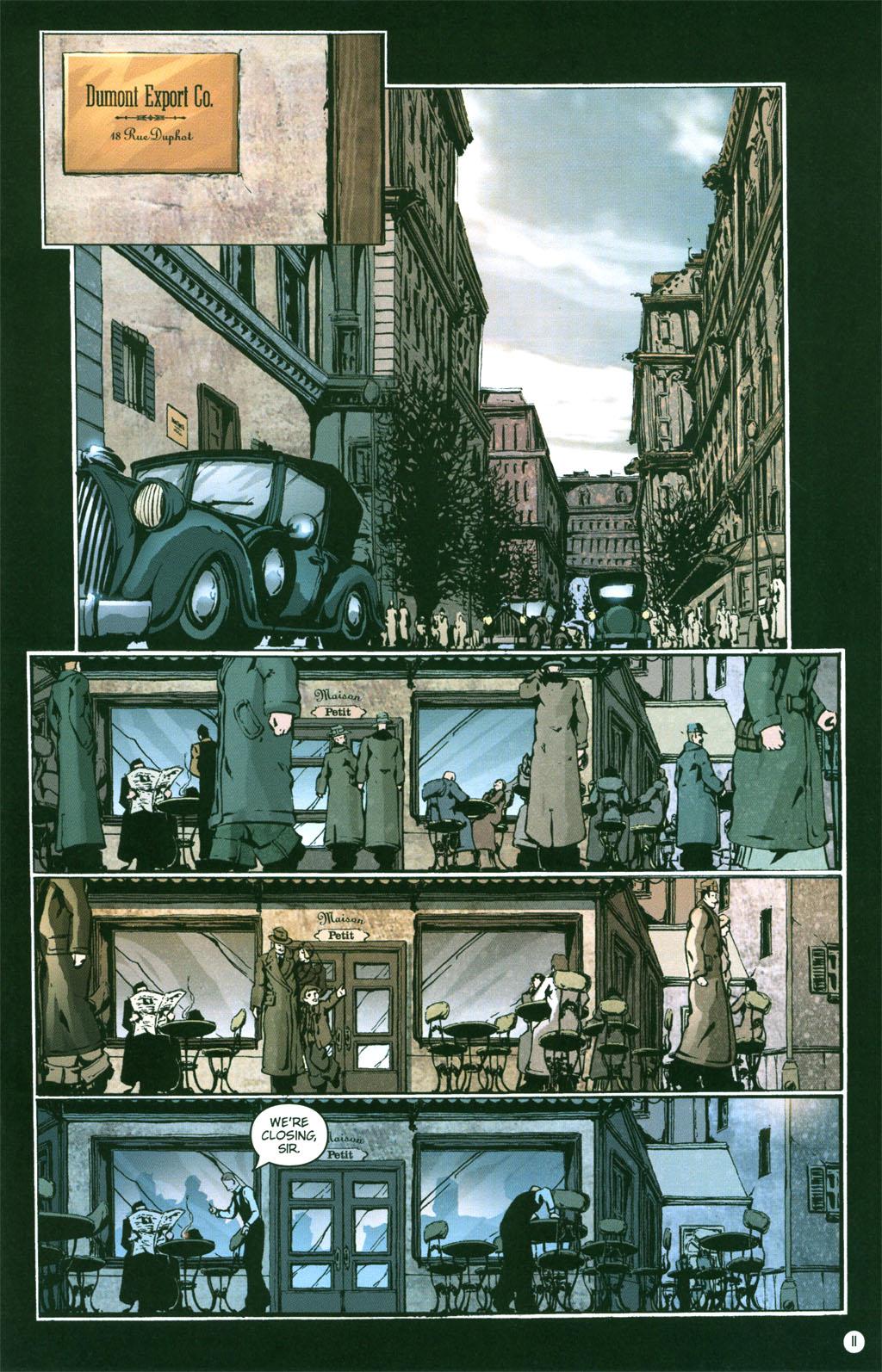 Read online Rex Mundi comic -  Issue #4 - 13