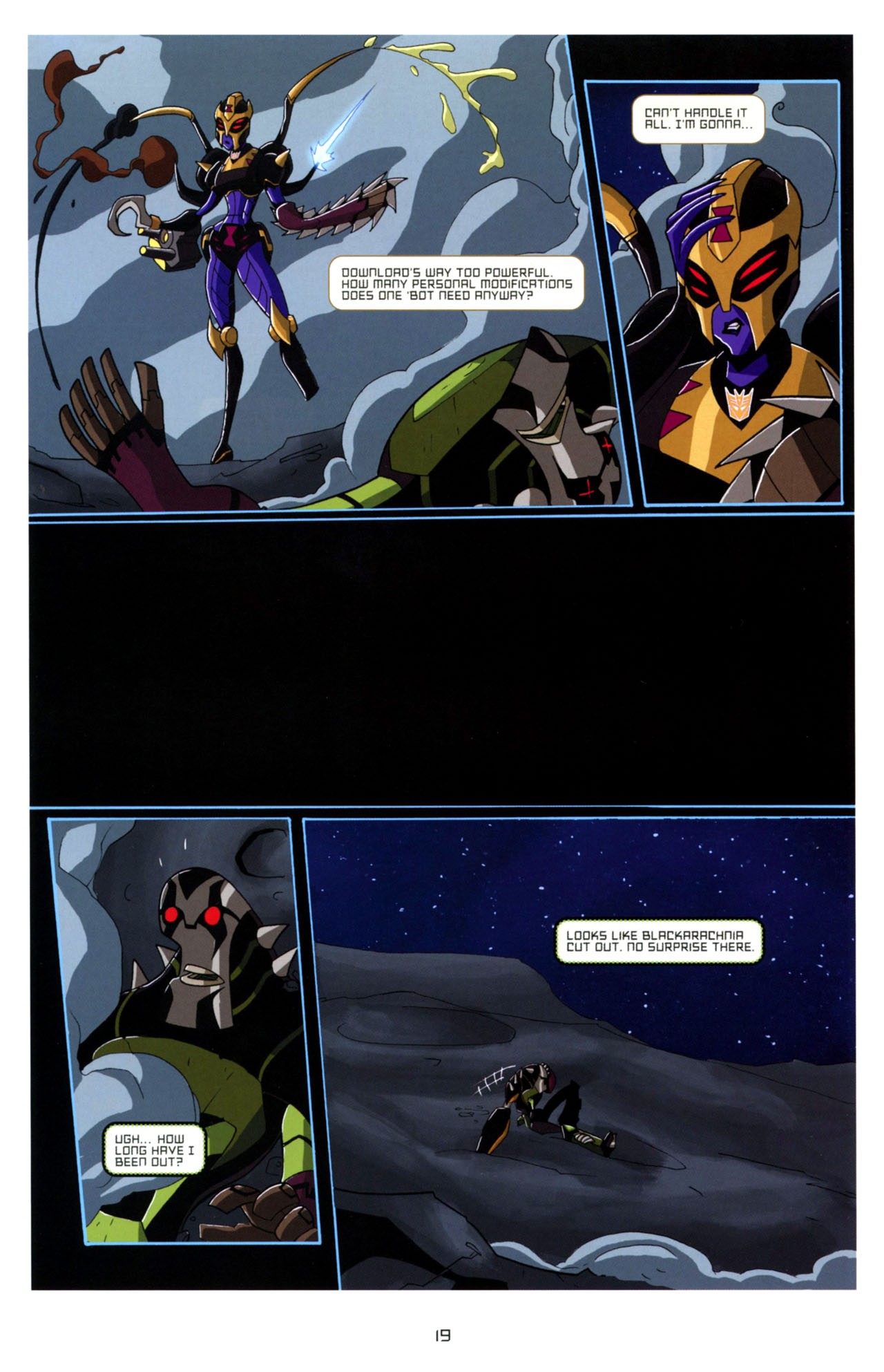 Read online Transformers Animated: The Arrival comic -  Issue #4 - 22