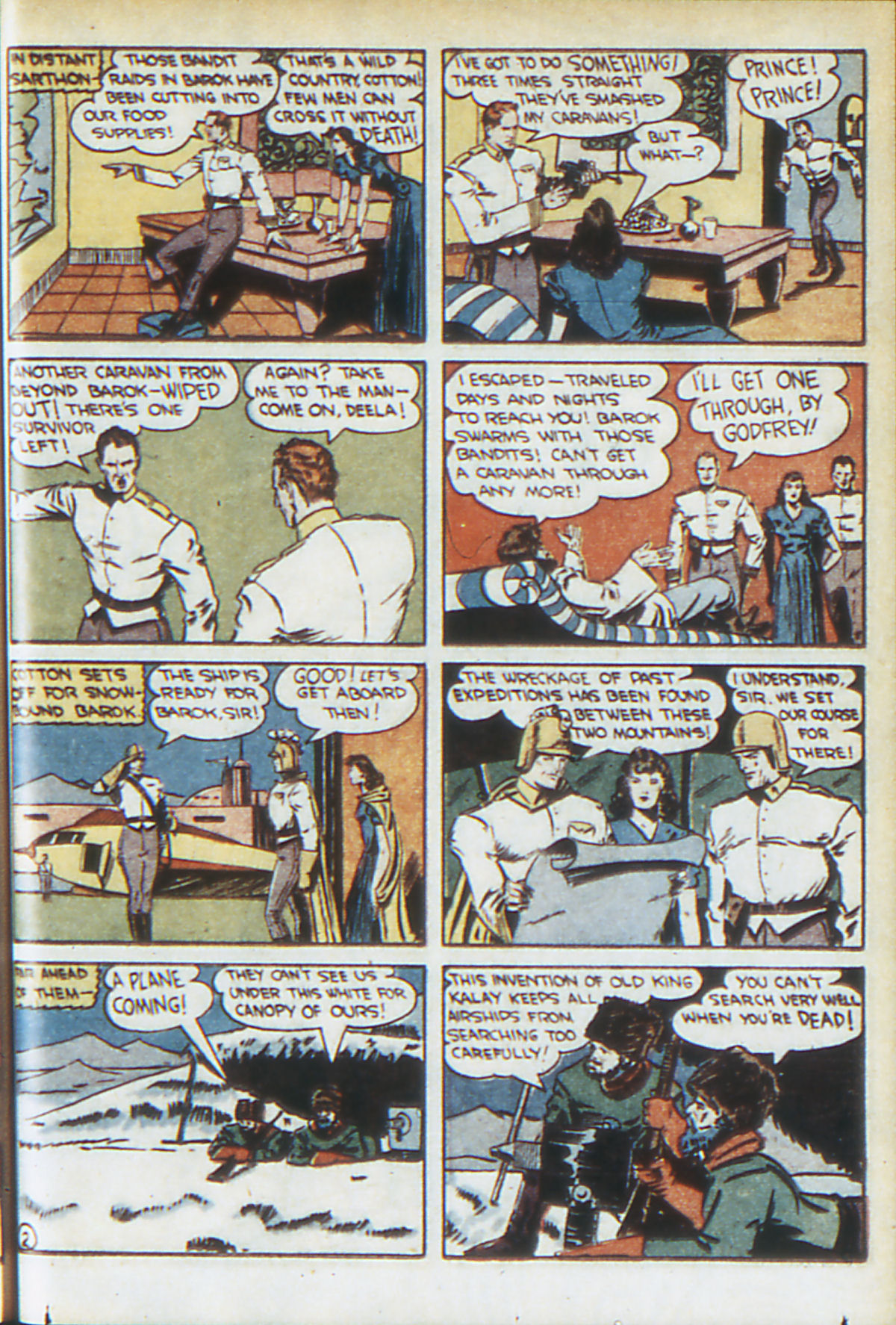 Read online Adventure Comics (1938) comic -  Issue #64 - 50