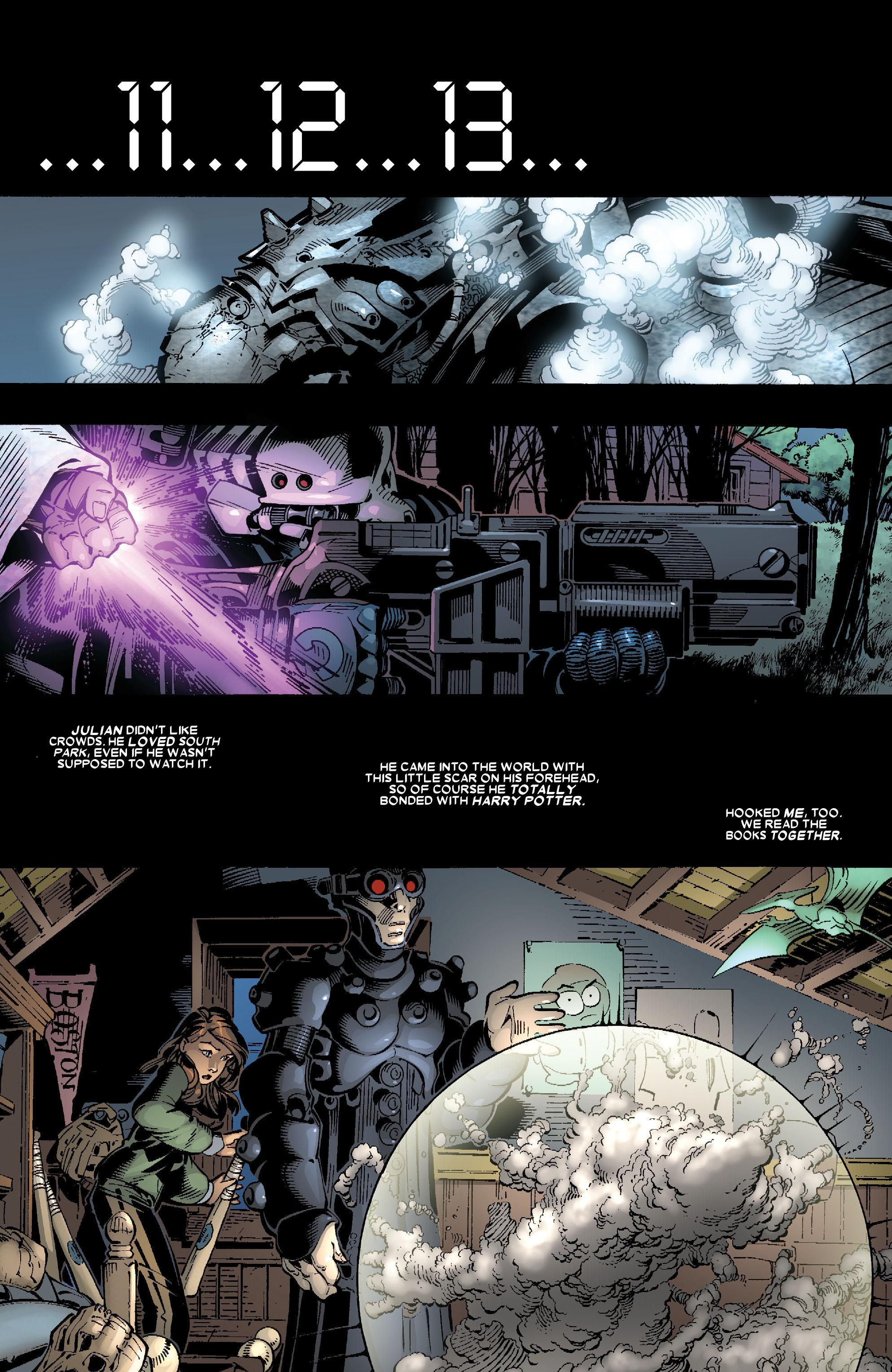 Read online Uncanny X-Men (1963) comic -  Issue #467 - 11