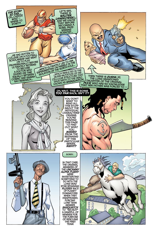 Read online Alpha Flight (2004) comic -  Issue #4 - 3