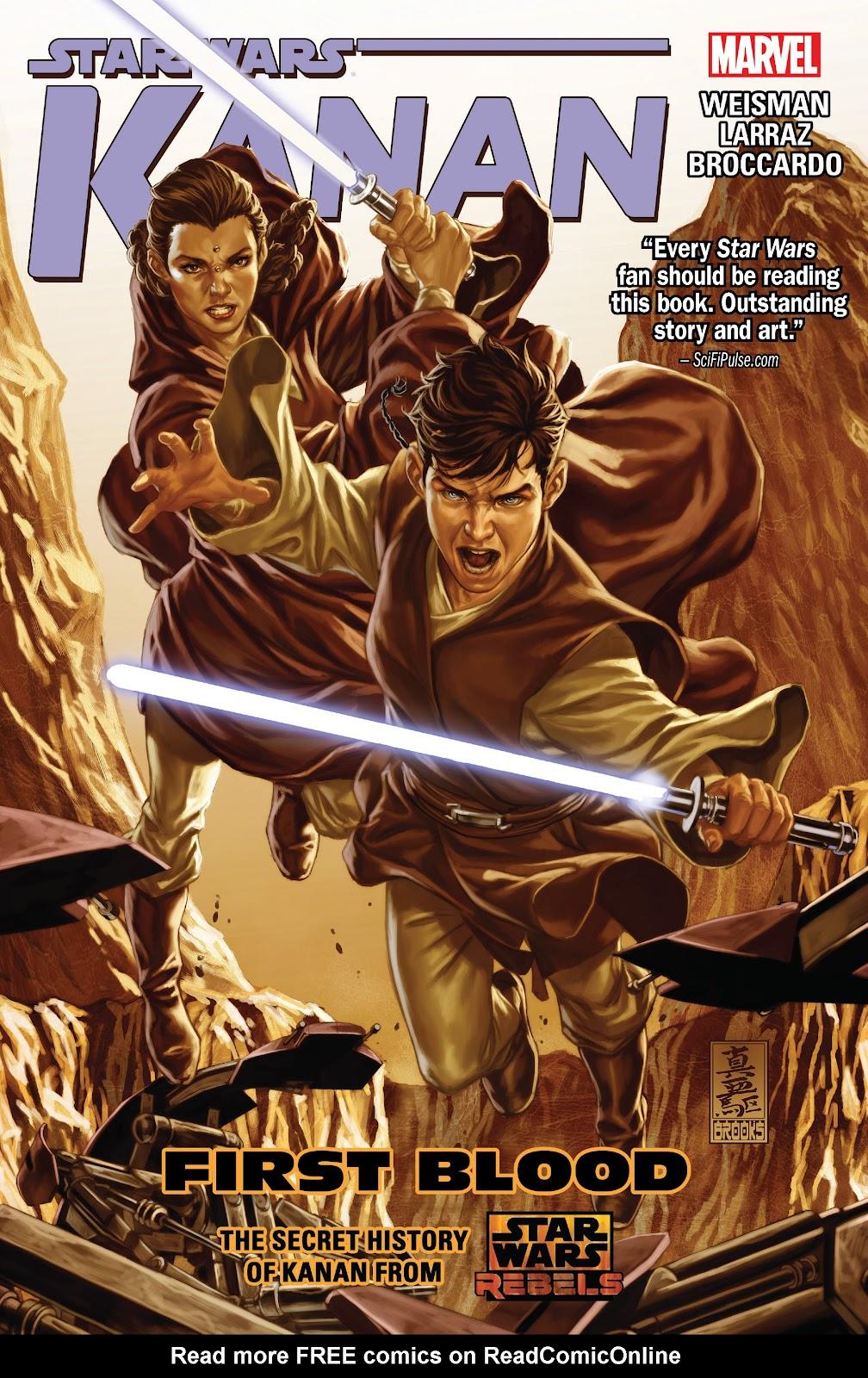 Star Wars: Kanan: First Blood Full Page 1