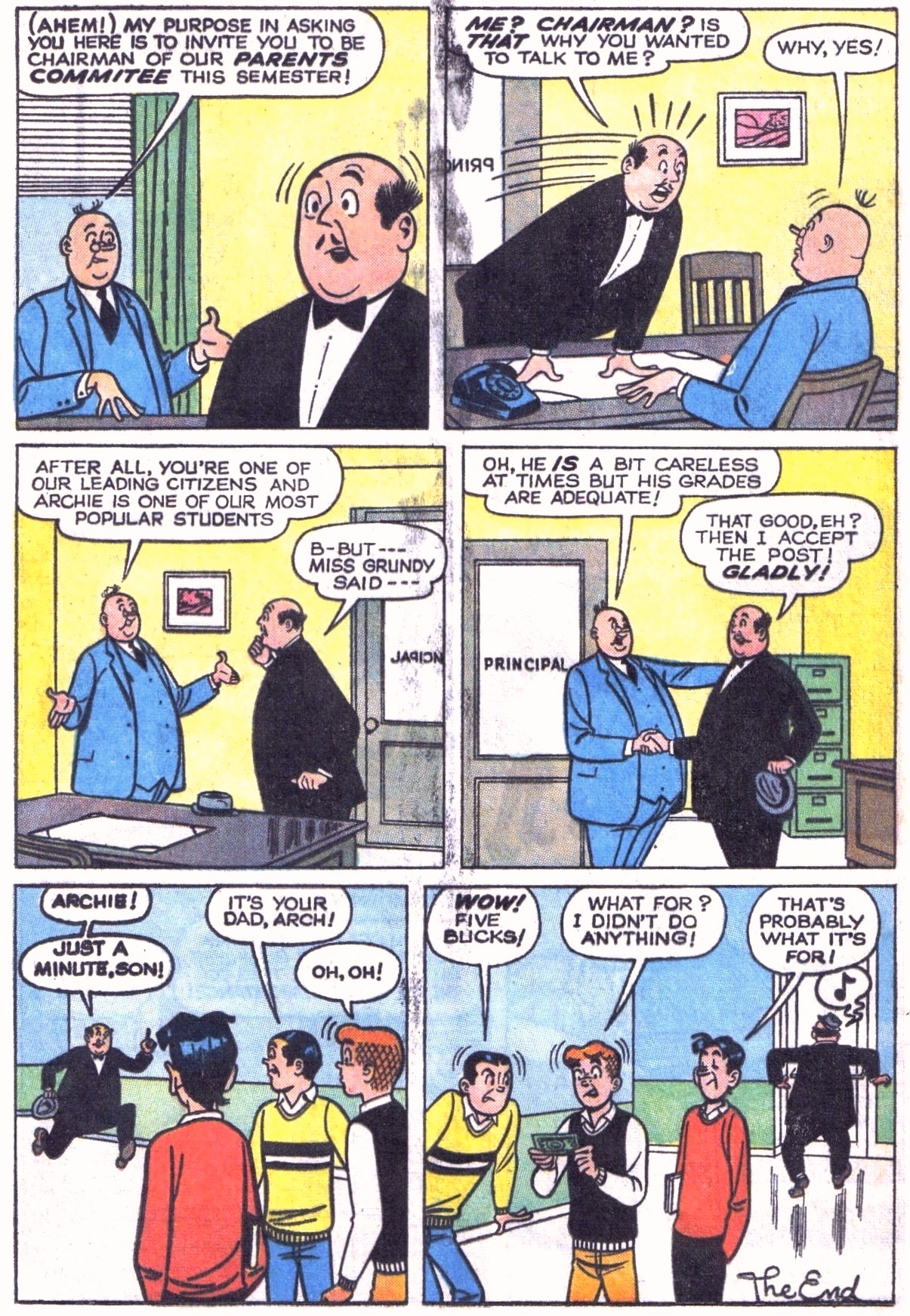 Read online Archie (1960) comic -  Issue #151 - 8