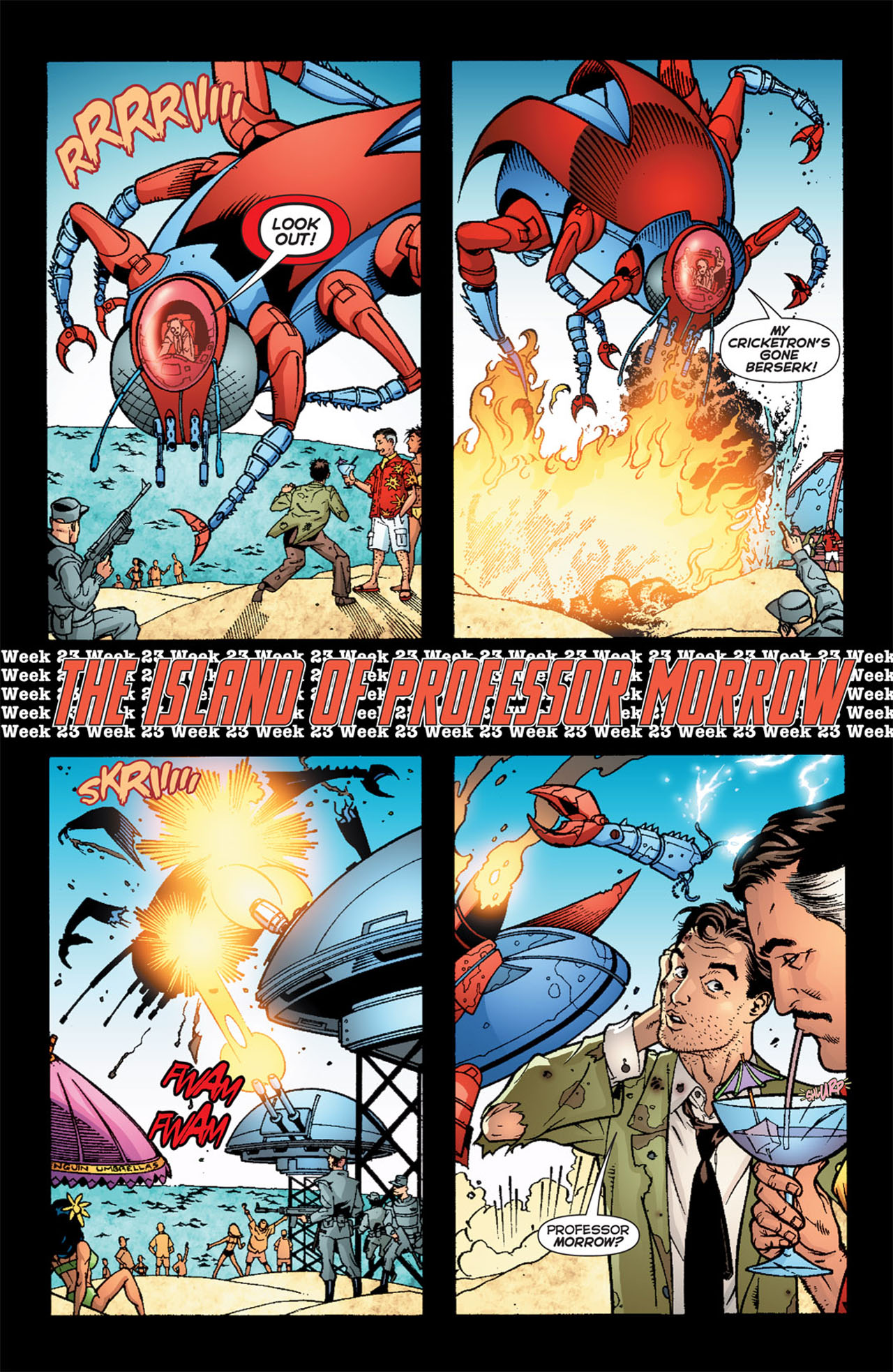 Read online 52 comic -  Issue #23 - 5