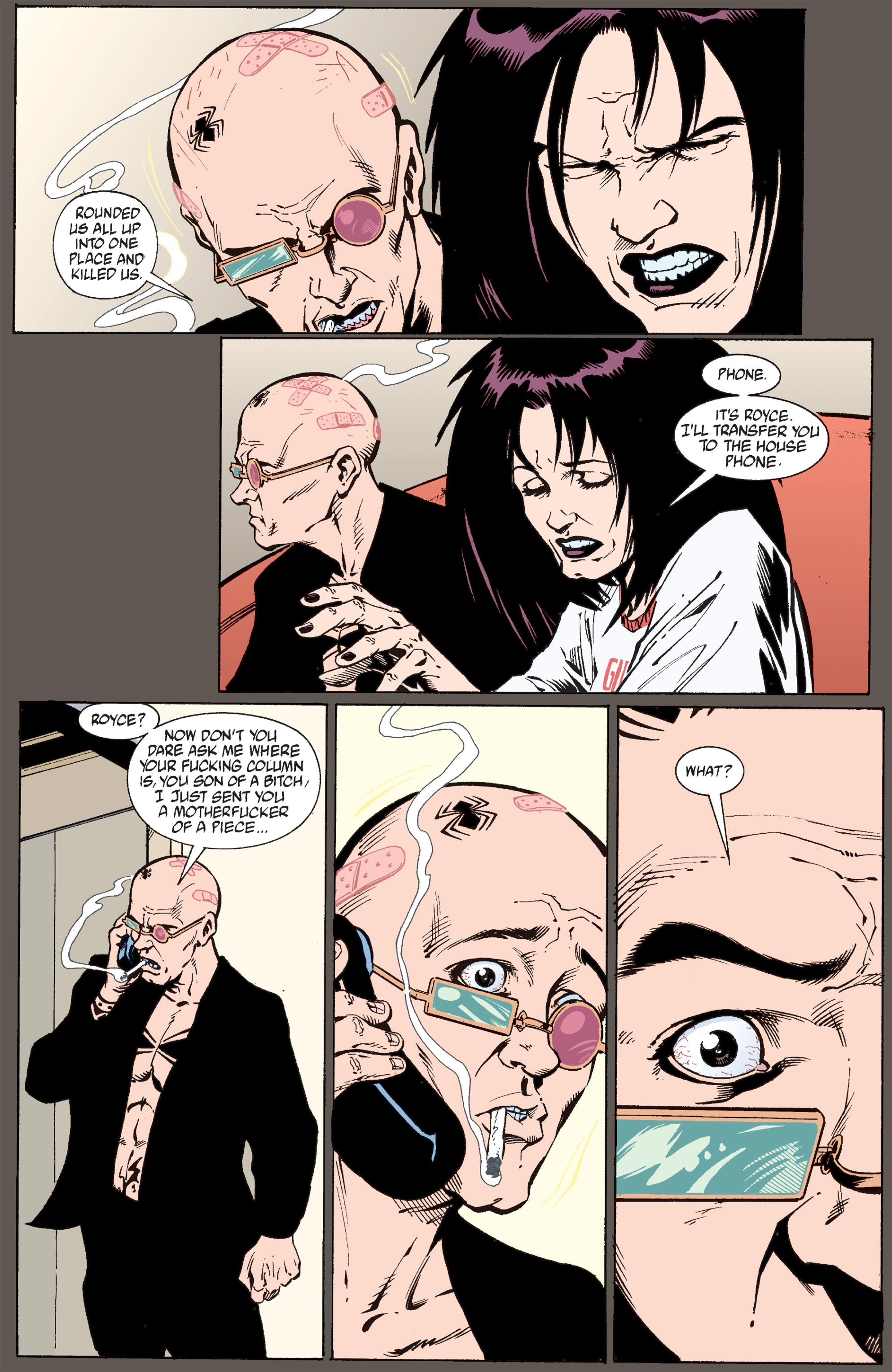 Read online Transmetropolitan comic -  Issue #30 - 18