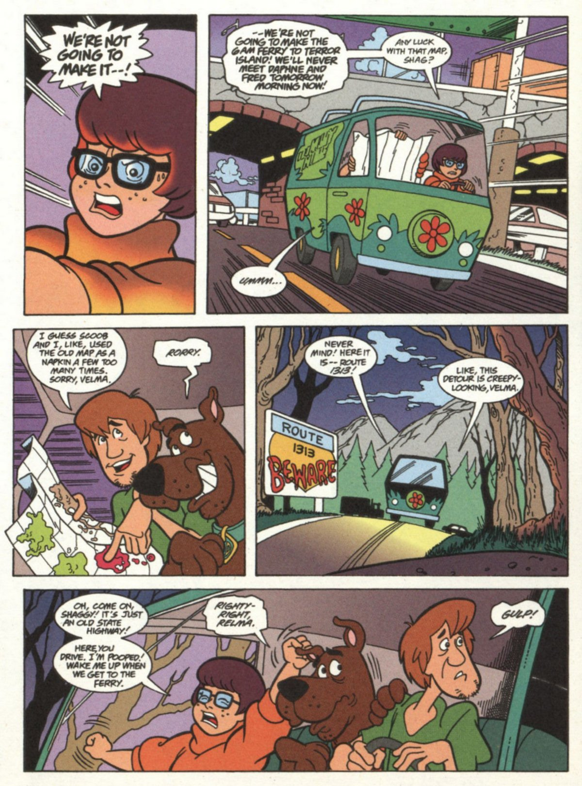 Read online Scooby-Doo (1997) comic -  Issue #18 - 2