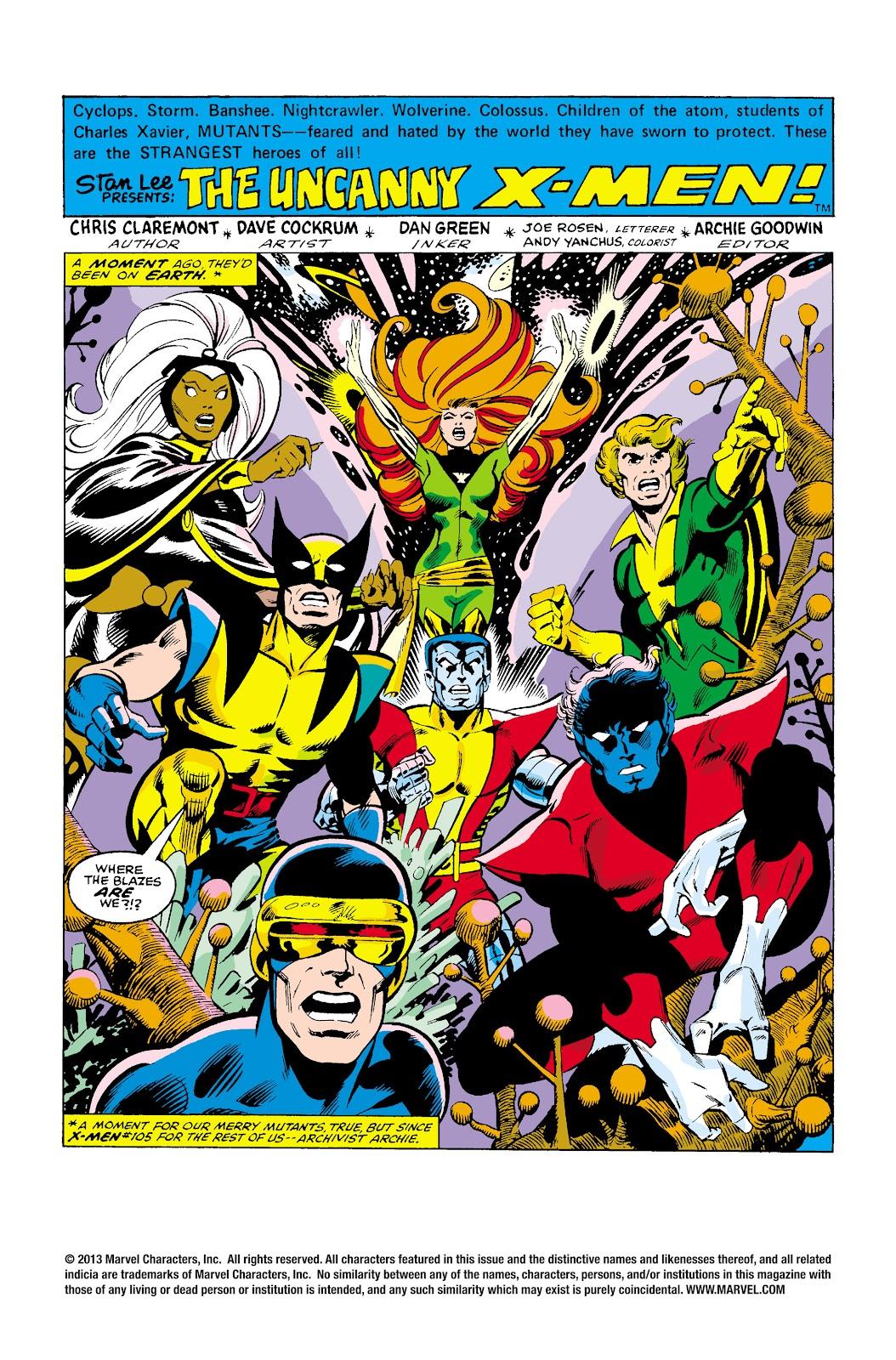Uncanny X-Men (1963) issue 107 - Page 2