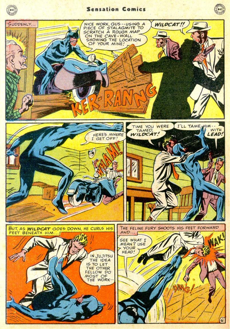 Read online Sensation (Mystery) Comics comic -  Issue #85 - 47